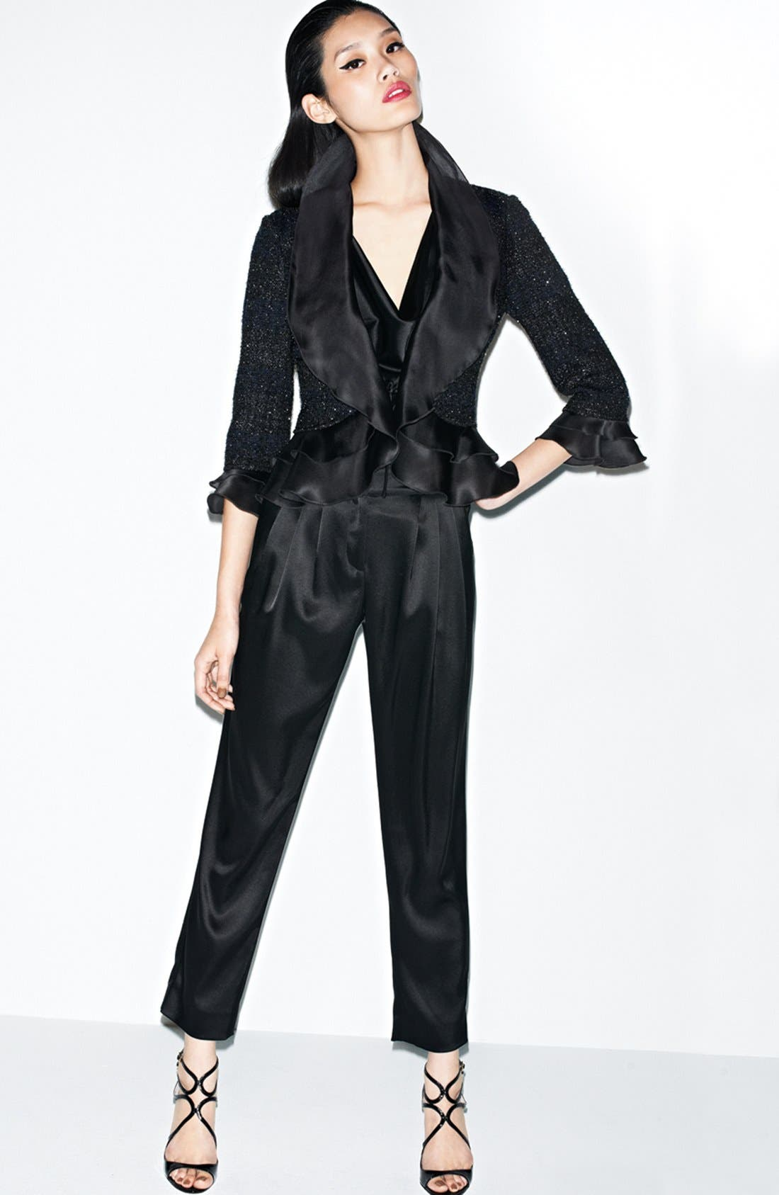 Alternate Image 1 Selected - St. John Collection Jacket, Top & Pants