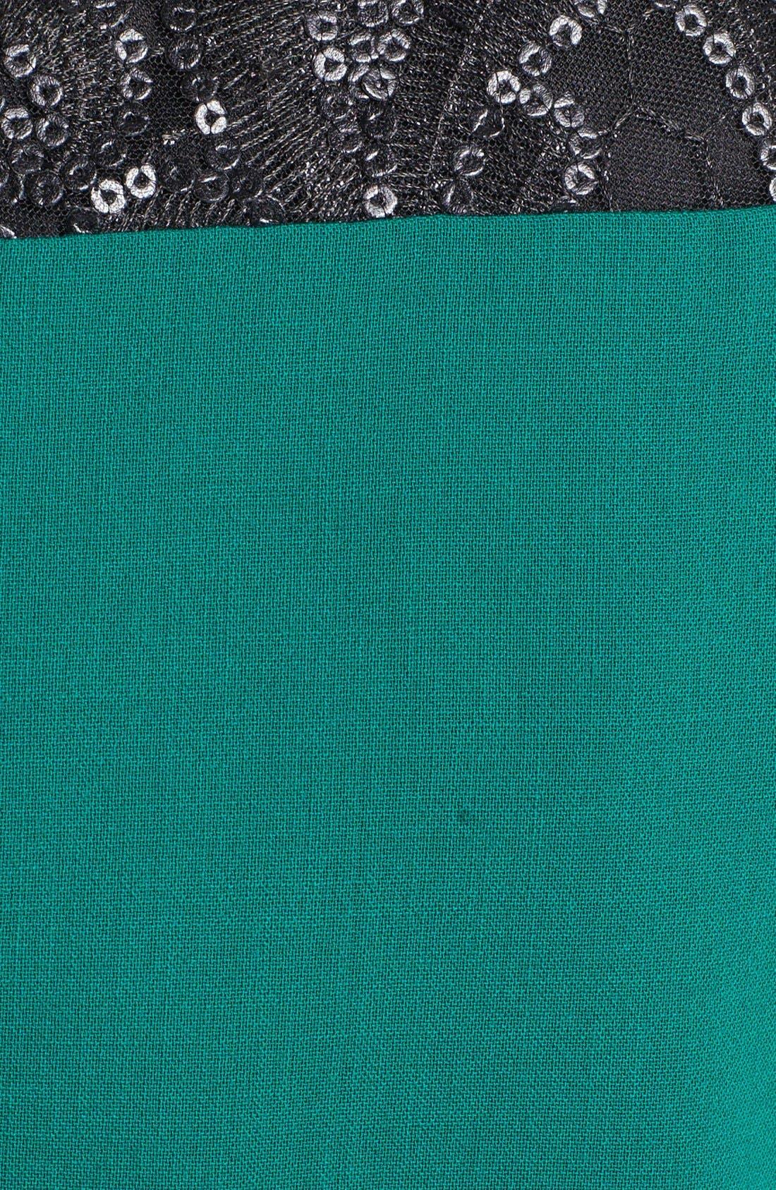 Alternate Image 3  - Tahari Embellished Peplum Sheath Dress