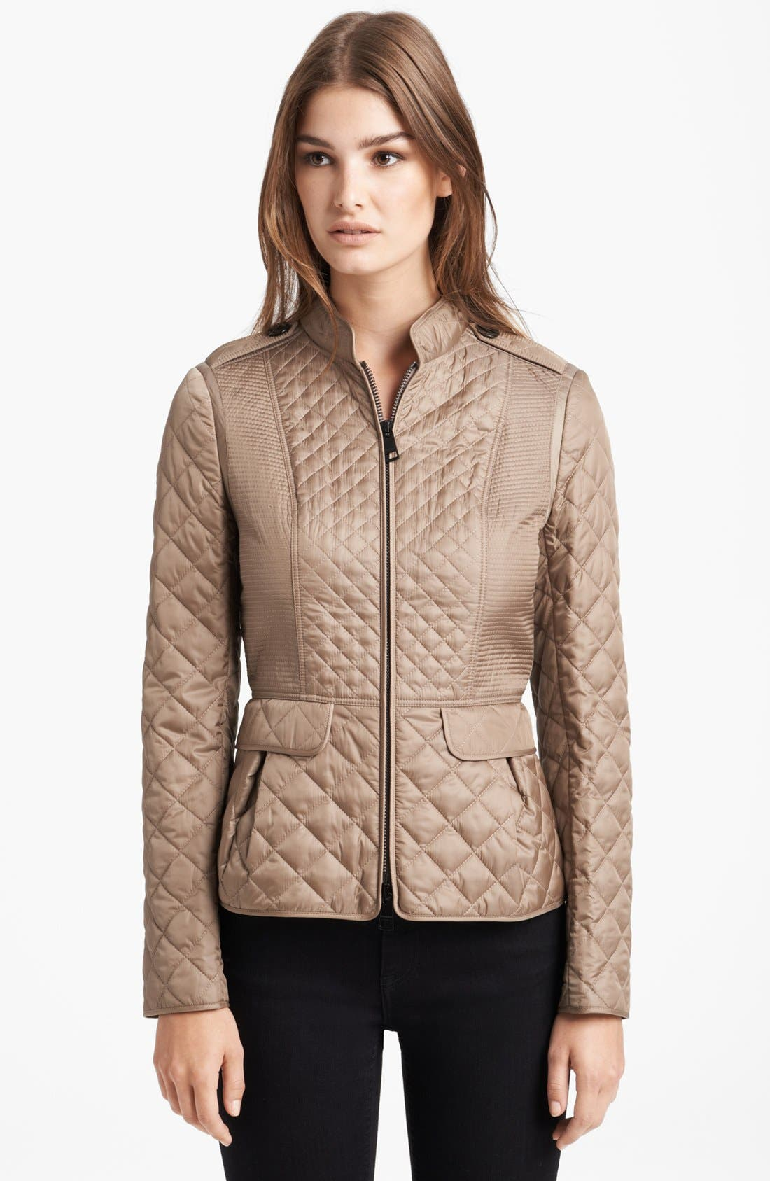 Main Image - Burberry London Quilted Jacket