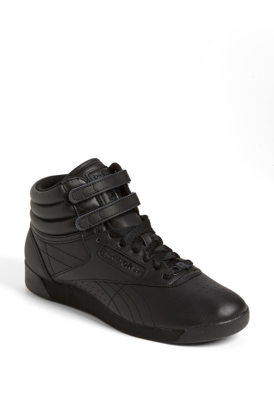 Alternate Image 1 Selected - Reebok 'Freestyle Hi' Sneaker (Women)