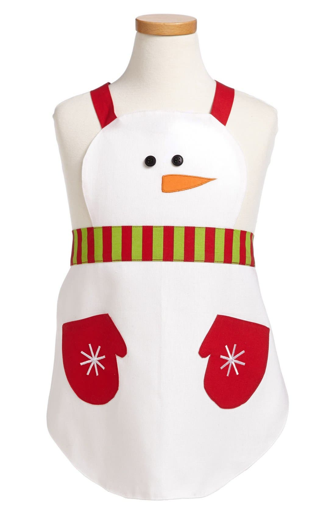 Alternate Image 1 Selected - Design Imports Snowman Child's Apron