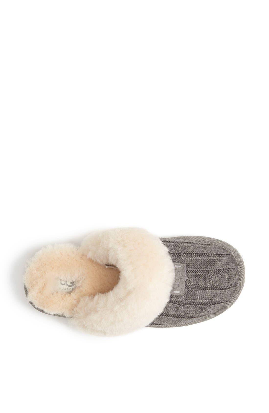 Alternate Image 3  - UGG® Australia 'Cozy' Knit Slipper (Women)