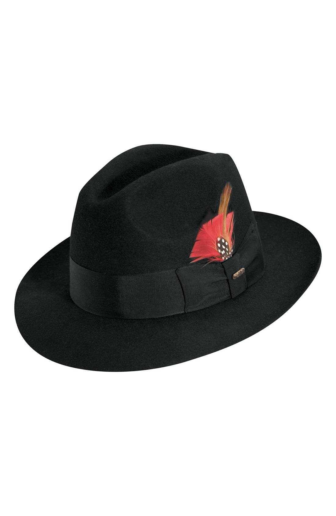 Alternate Image 1 Selected - Scala 'Classico' Wool Felt Fedora