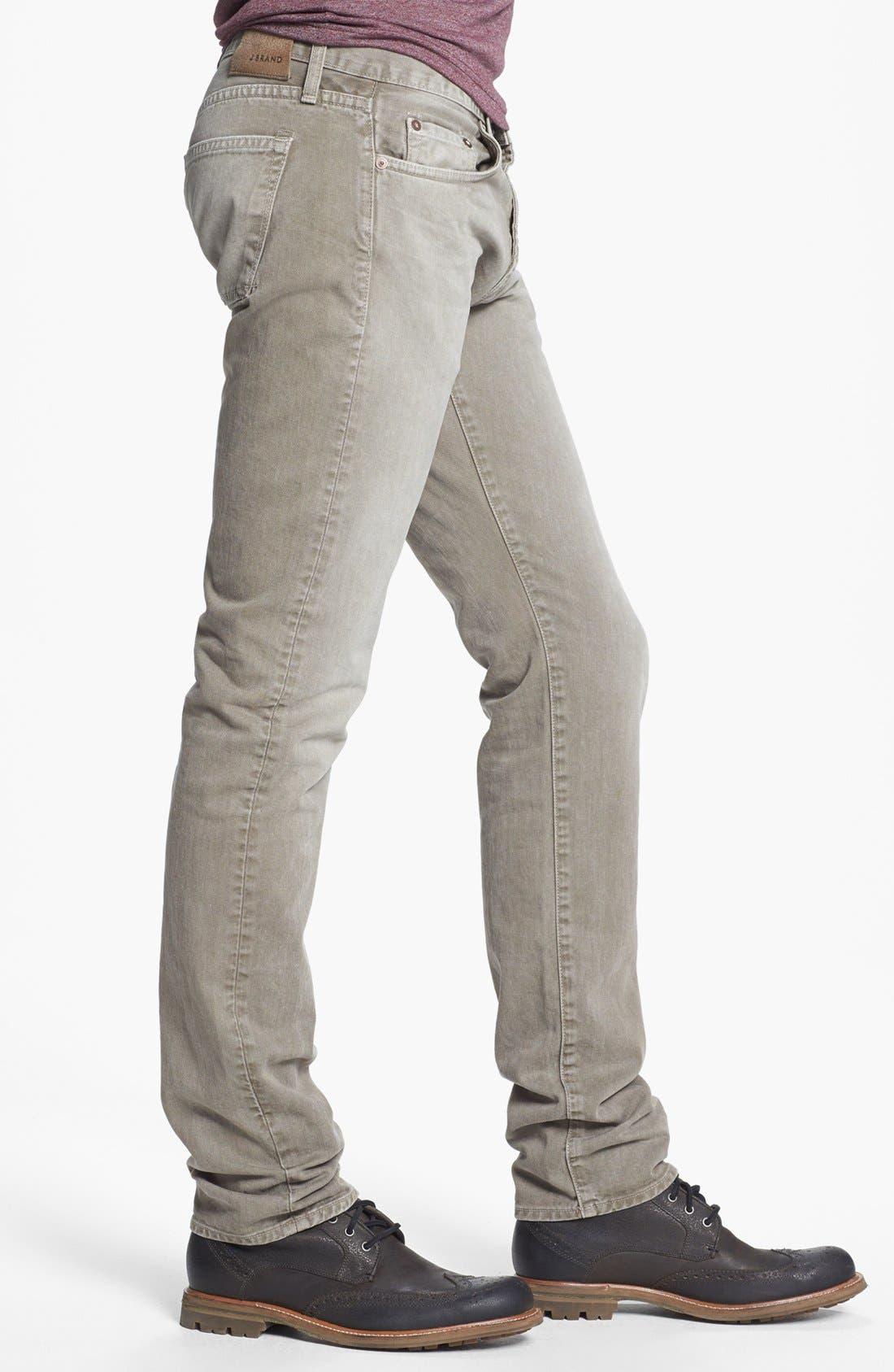 Alternate Image 3  - J Brand 'Kane' Slim Fit Jeans (Washed Boulder)