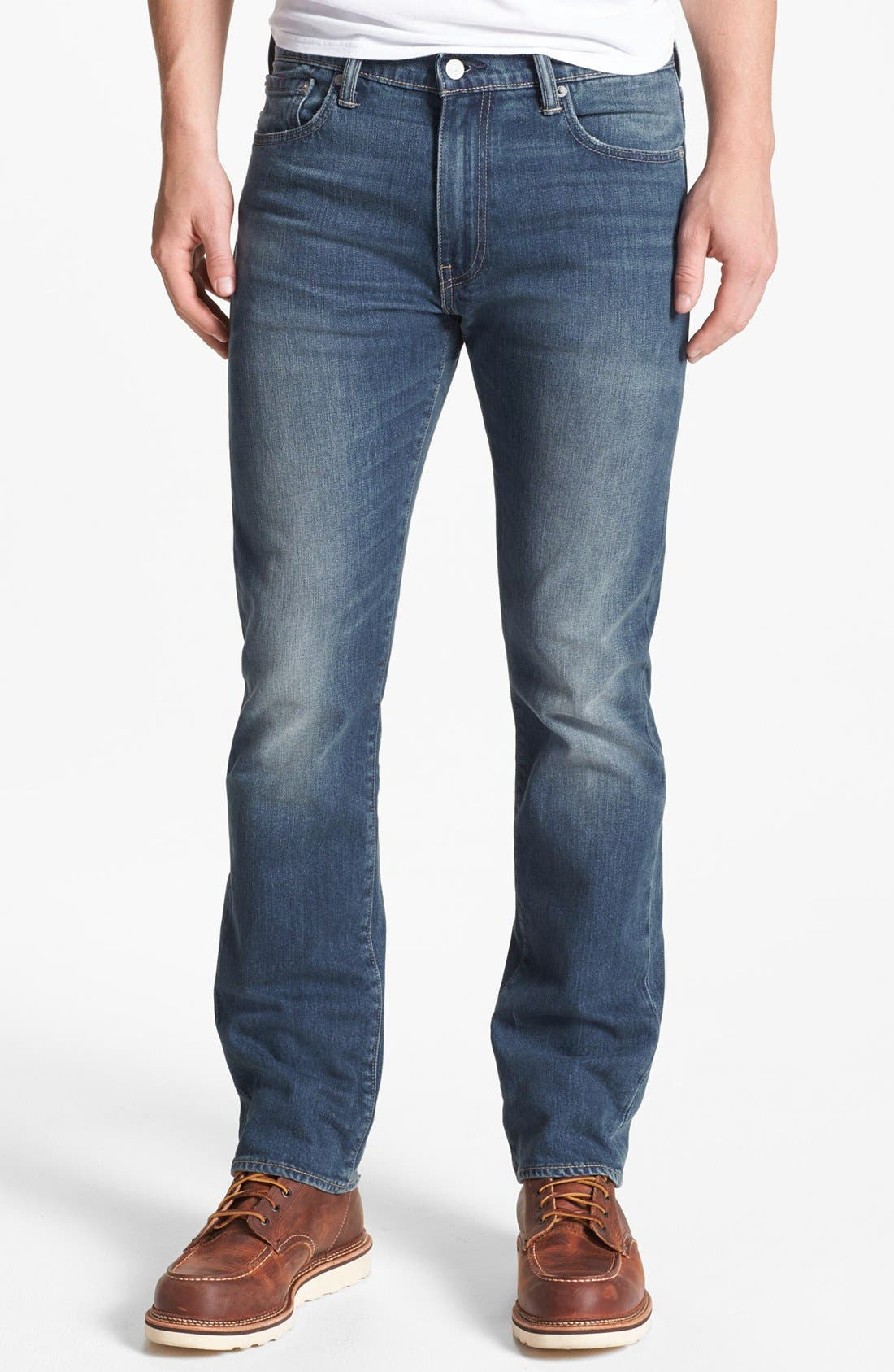 Alternate Image 1 Selected - Levi's® '513™' Slim Fit Jeans (Blue Canyon)