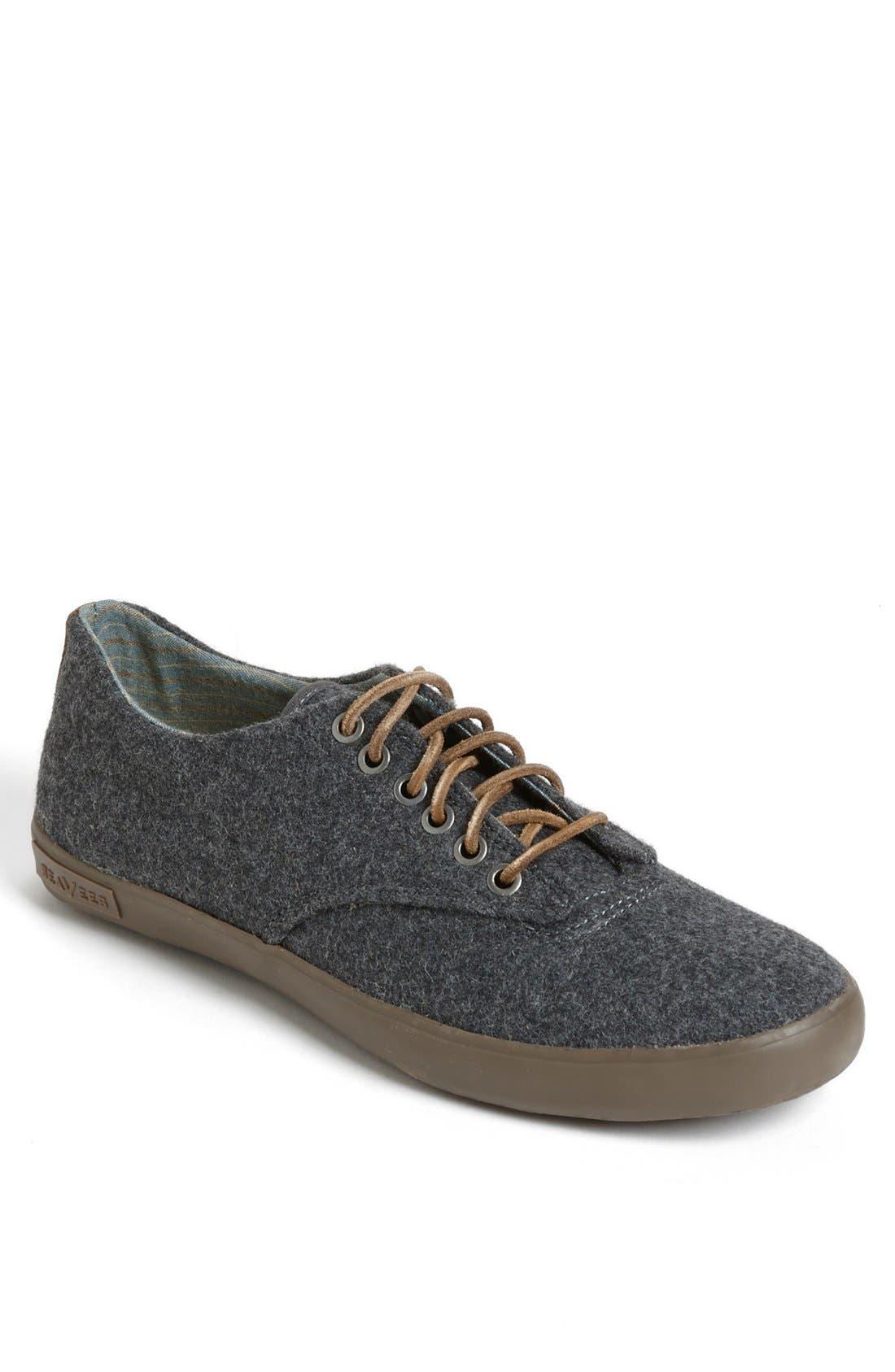 Alternate Image 1 Selected - SeaVees 'Hermosa Plimsoll Surplus' Boiled Wool Sneaker