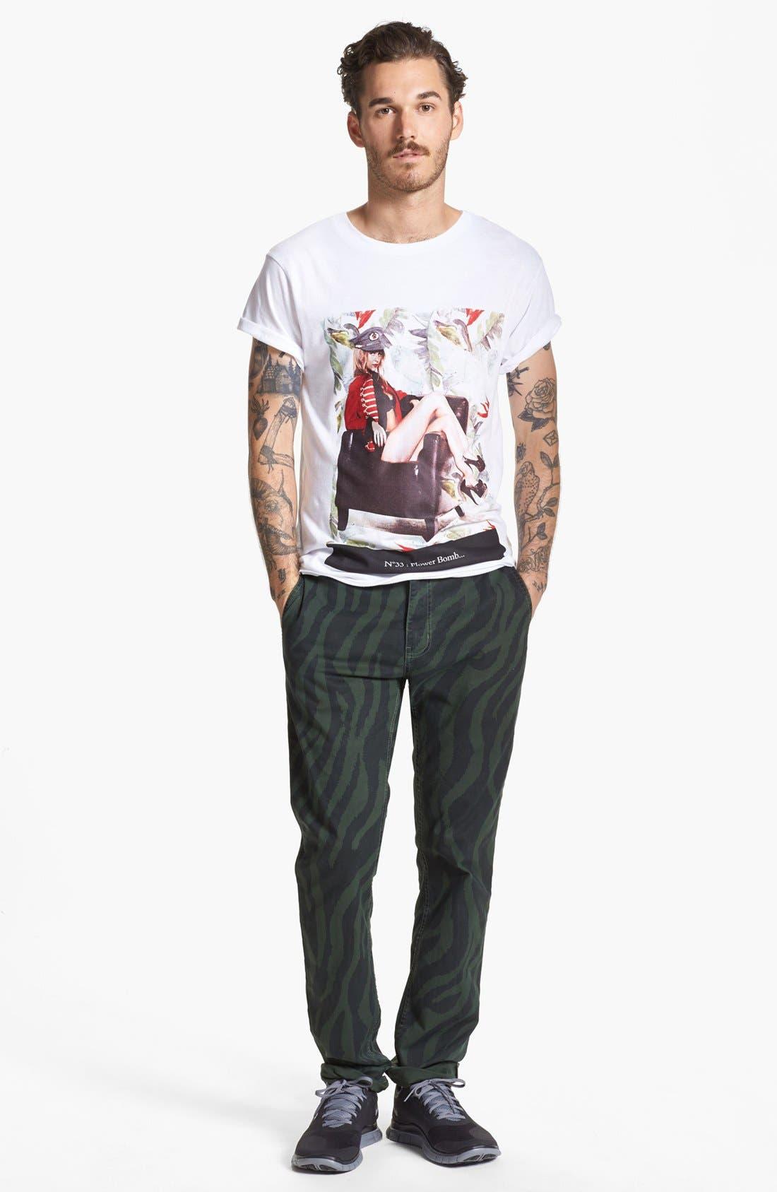 Alternate Image 4  - ELEVENPARIS 'N33 Flower Bomb' T-Shirt