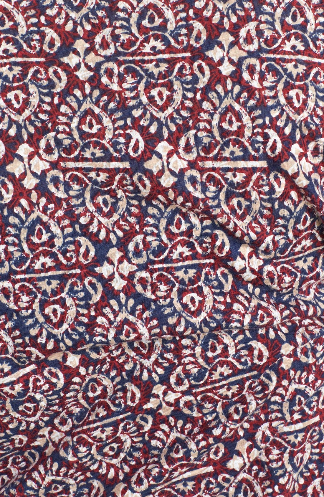 Alternate Image 3  - Lucky Brand 'Moroccan' Print Top (Plus Size)