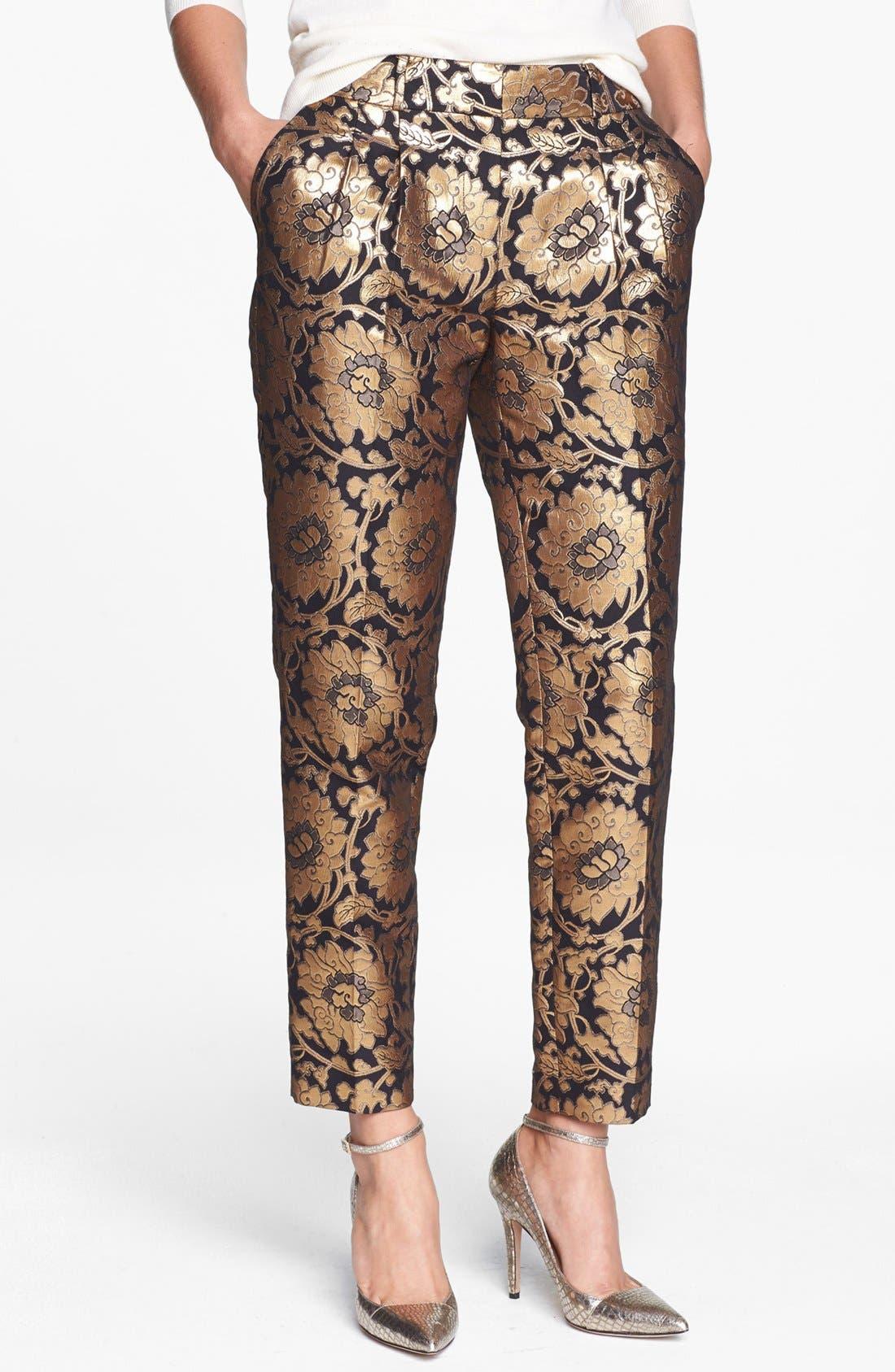 Alternate Image 1 Selected - kate spade new york 'avery' crop pants