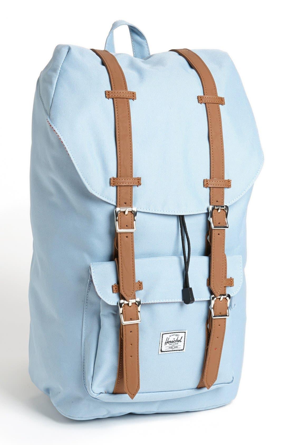 'Little America' Backpack,                         Main,                         color, Steel Blue