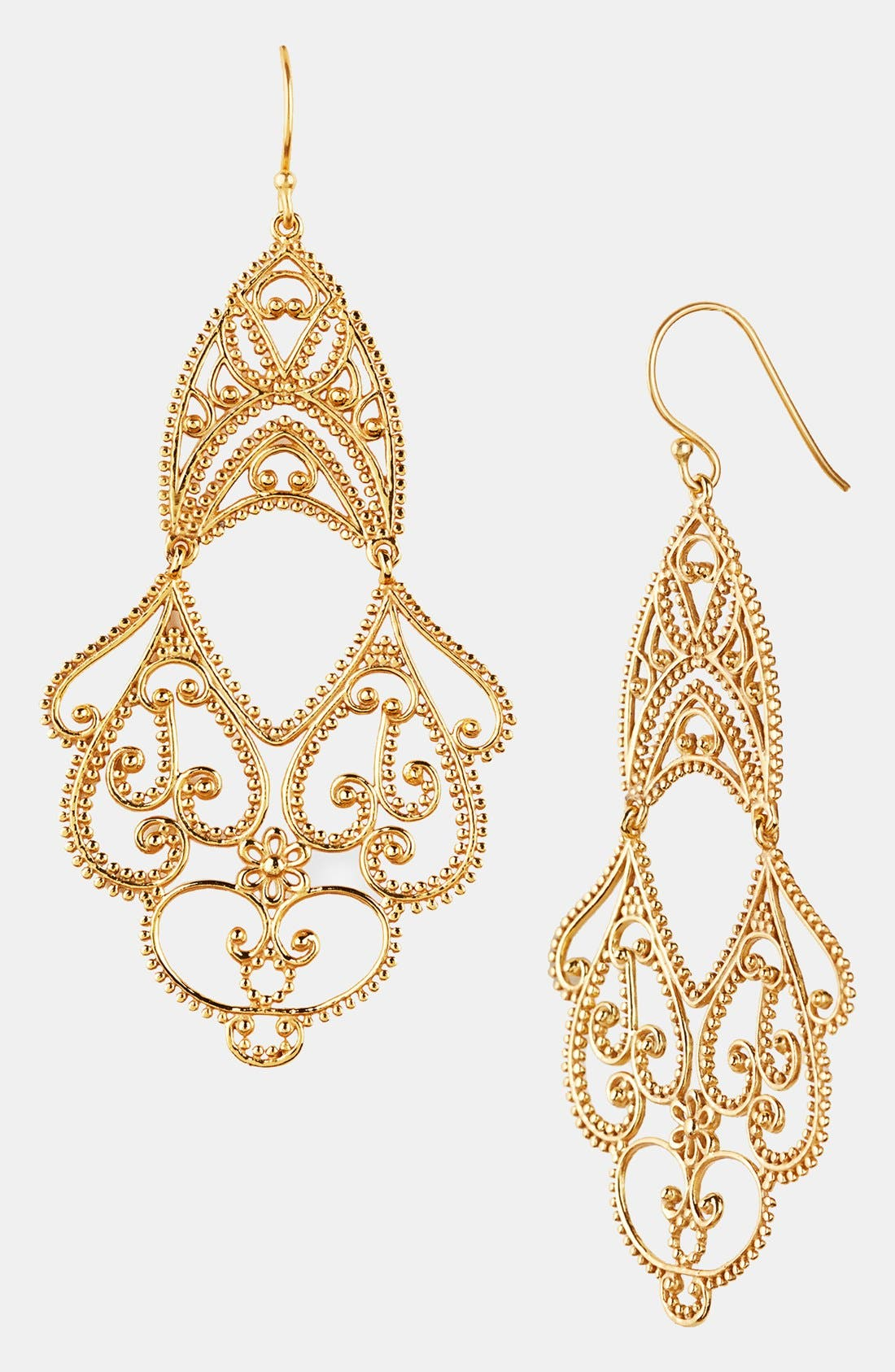 Main Image - Argento Vivo Double Drop Earrings