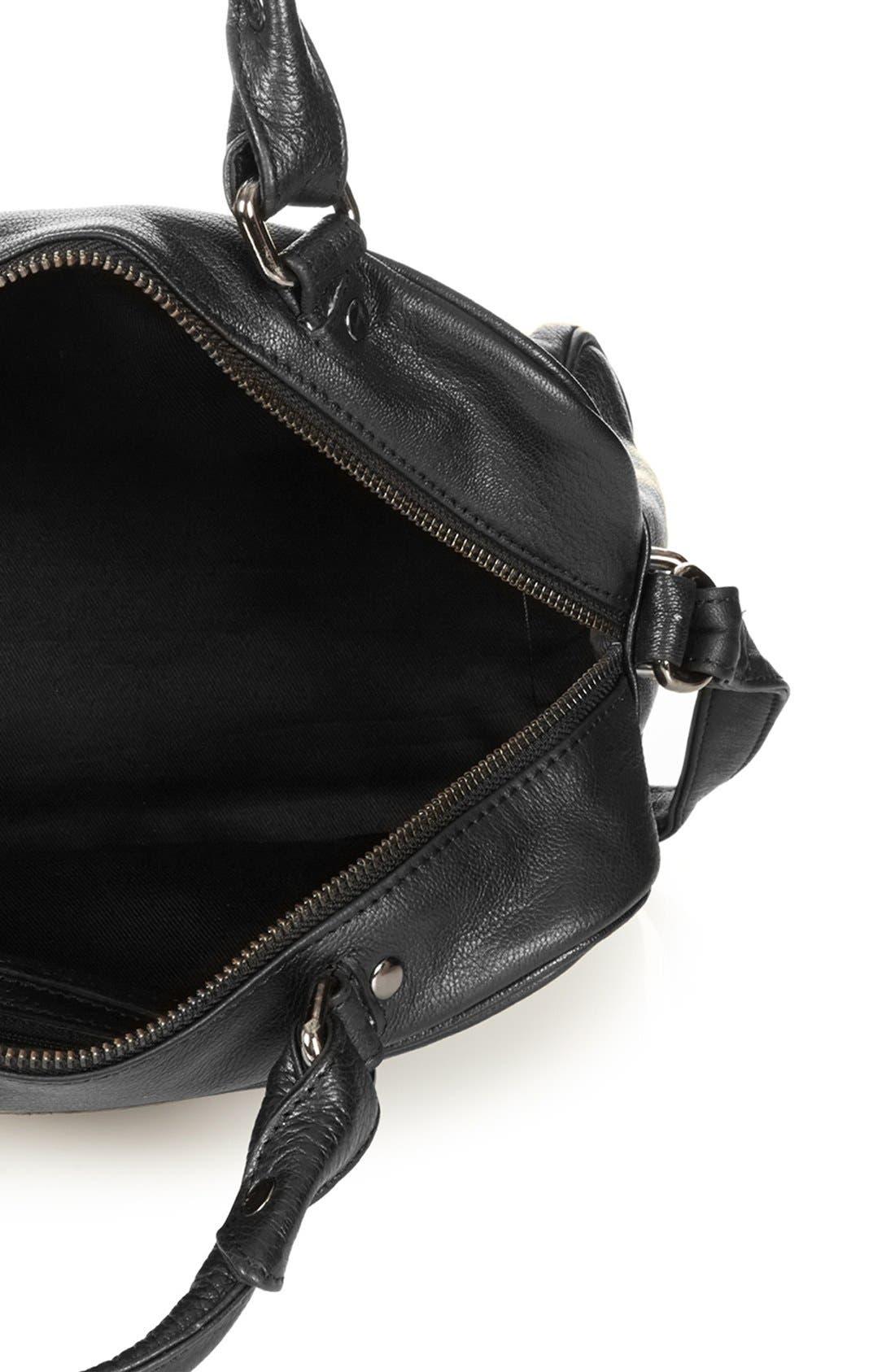 Alternate Image 3  - Topshop 'Medium' Leather Satchel