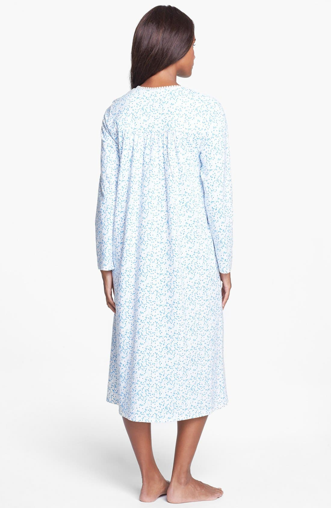 Alternate Image 2  - Eileen West 'Festival of Lights' Knit Nightgown