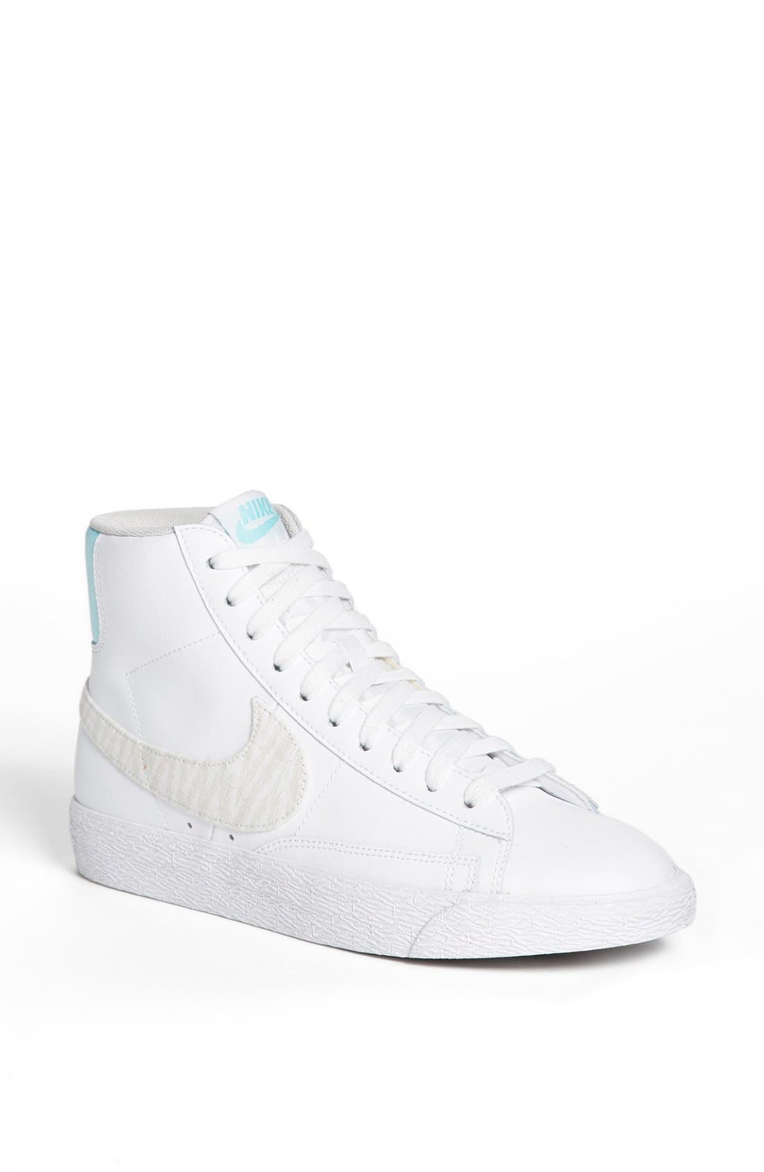 Alternate Image 1 Selected - Nike 'Blazer' Mid Leather Sneaker (Women)