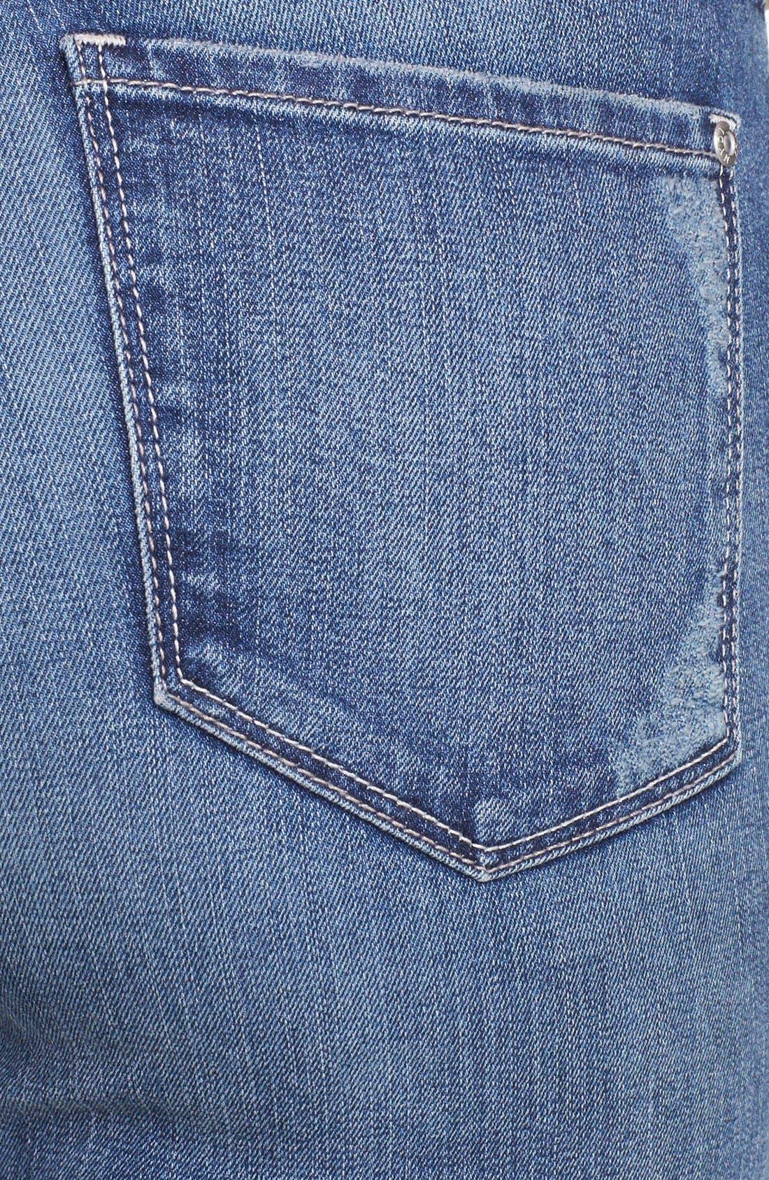Alternate Image 3  - NYDJ 'Leann' Stretch Skinny Boyfriend Jeans (Lake Arrowhead) (Regular & Petite)
