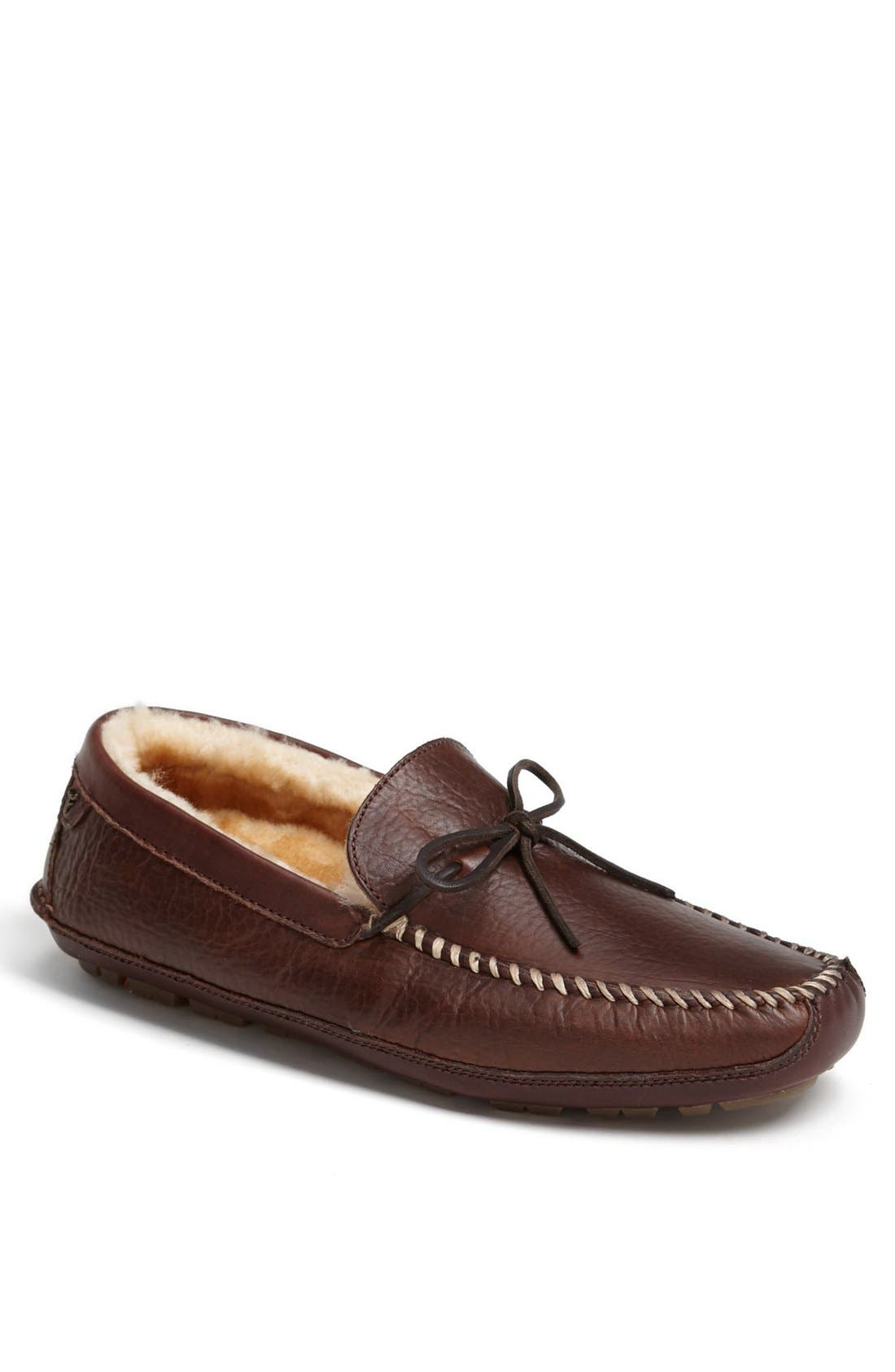 'Polson' Slipper,                             Main thumbnail 1, color,                             Bourbon Bison