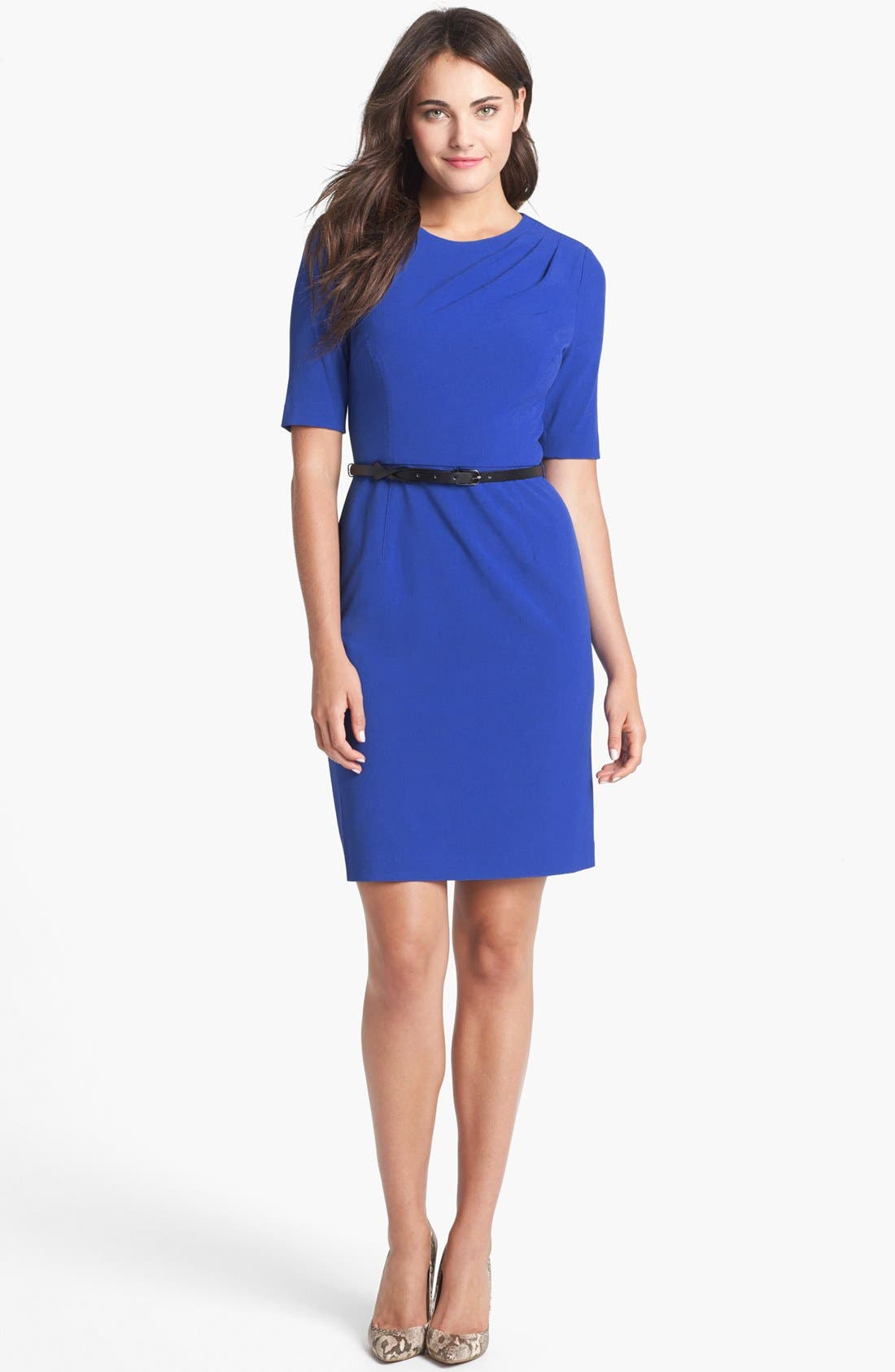 Alternate Image 1 Selected - Ivy & Blu for Maggy Boutique Sheath Dress