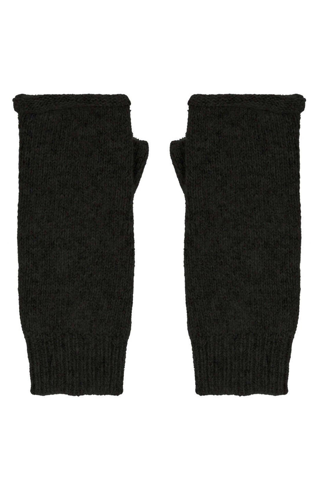Alternate Image 2  - Topshop Fingerless Gloves