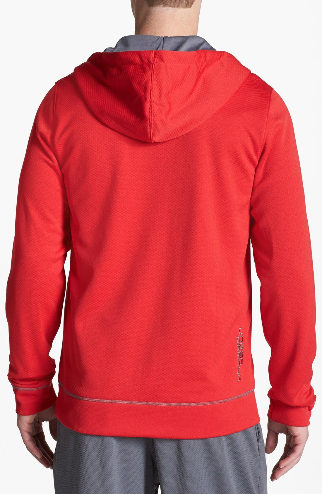 Alternate Image 2  - Under Armour 'Tech' Loose Fit Fleece Hoodie