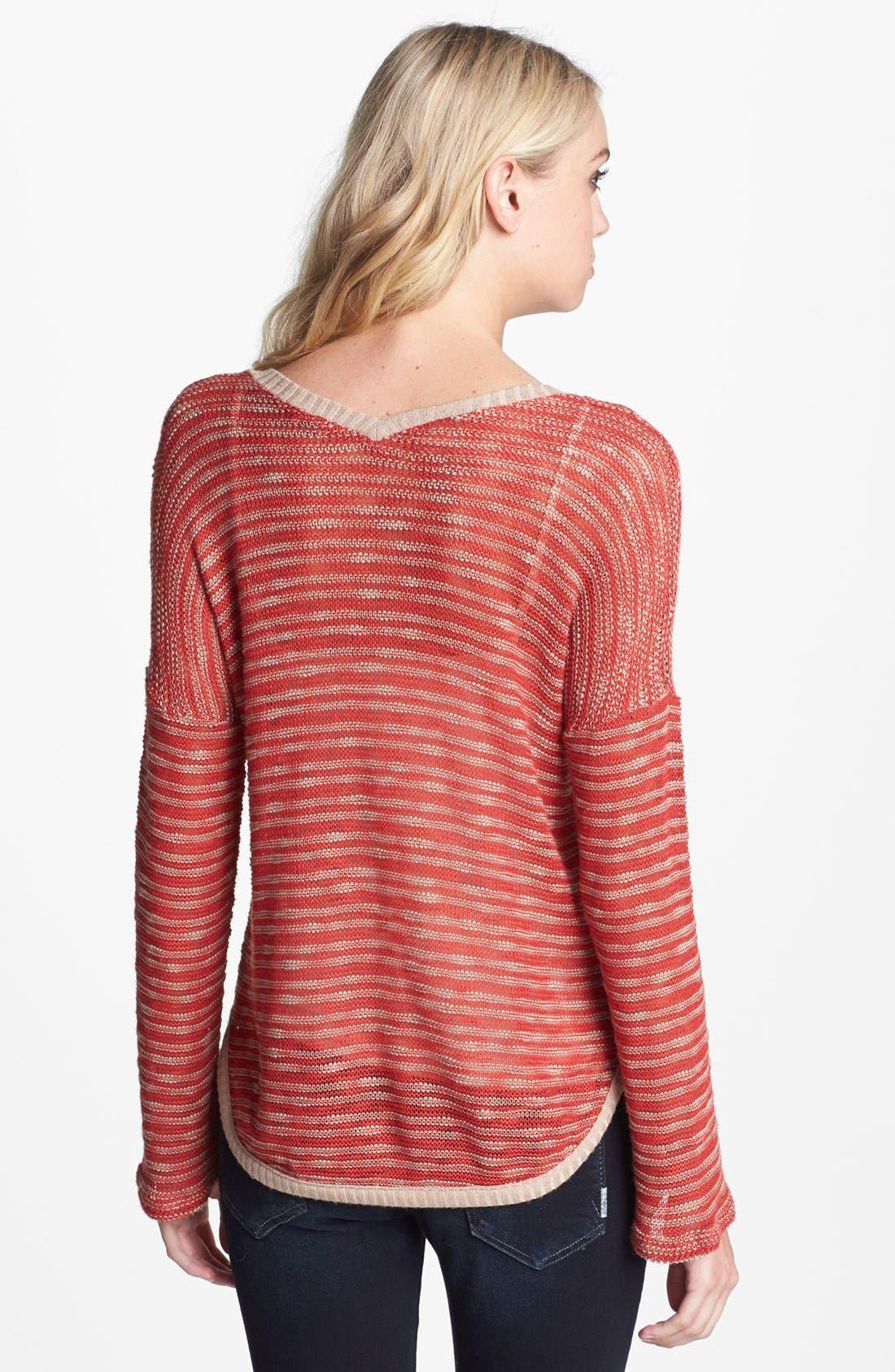 Alternate Image 2  - Splendid 'Fireside' V-Neck Sweater