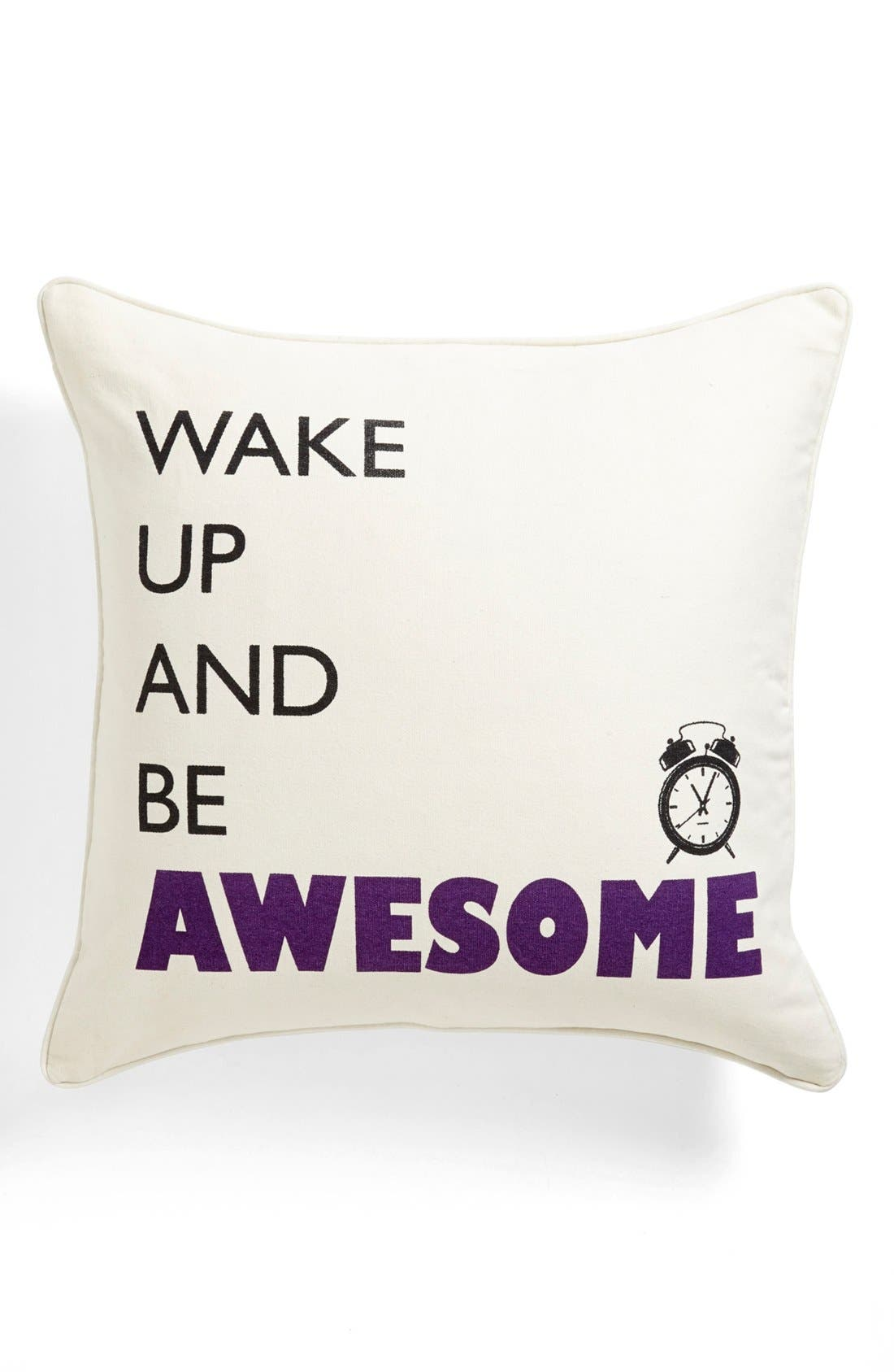 Alternate Image 1 Selected - Levtex 'Wake Up' Pillow