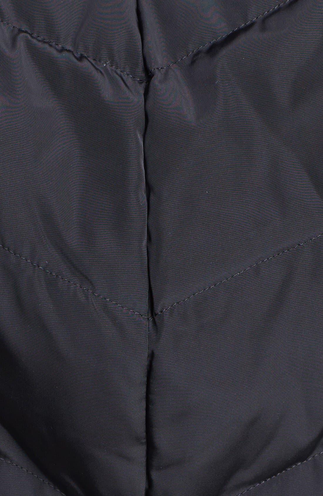 Alternate Image 3  - Cole Haan Oversize Collar Down & Feather Coat (Petite)