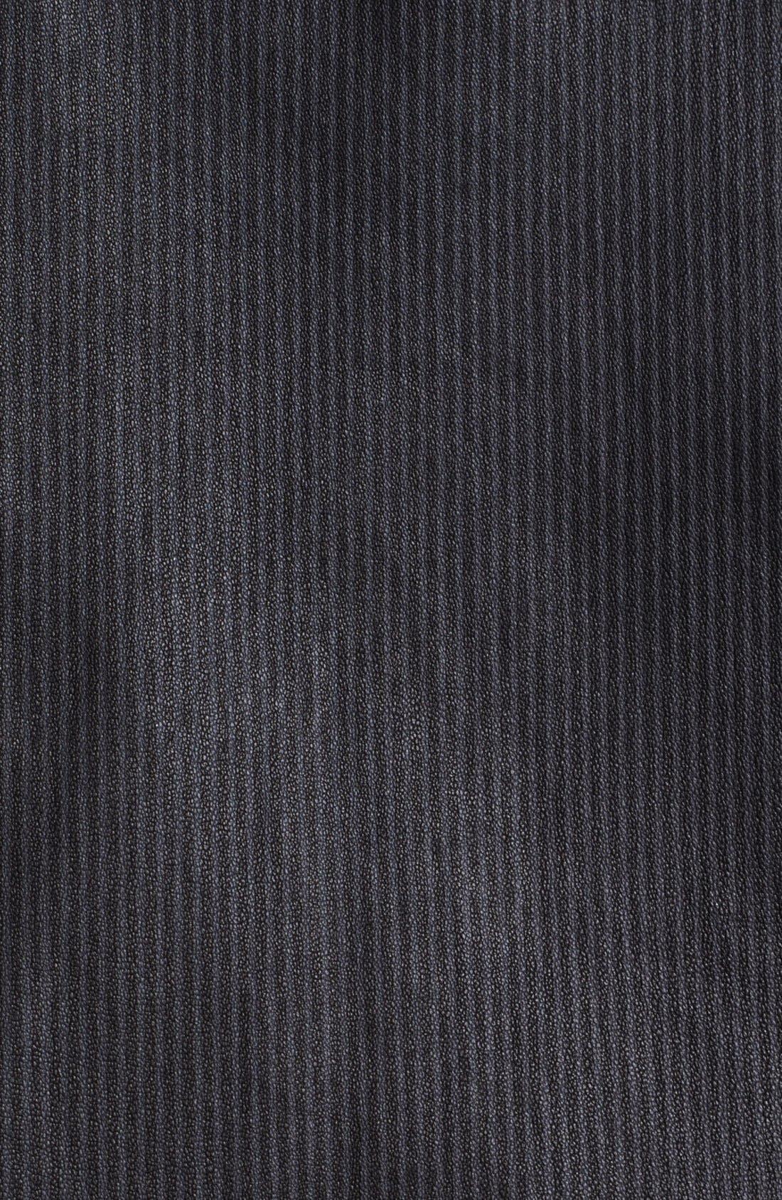 Alternate Image 4  - Theyskens' Theory 'Jylan Netch' Stripe Leather Jacket