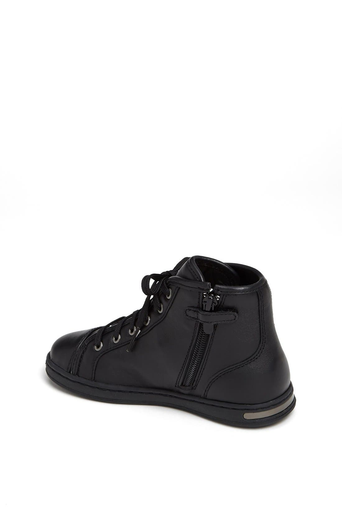 Alternate Image 2  - Dolce&Gabbana High Top Sneaker (Toddler & Little Kid)