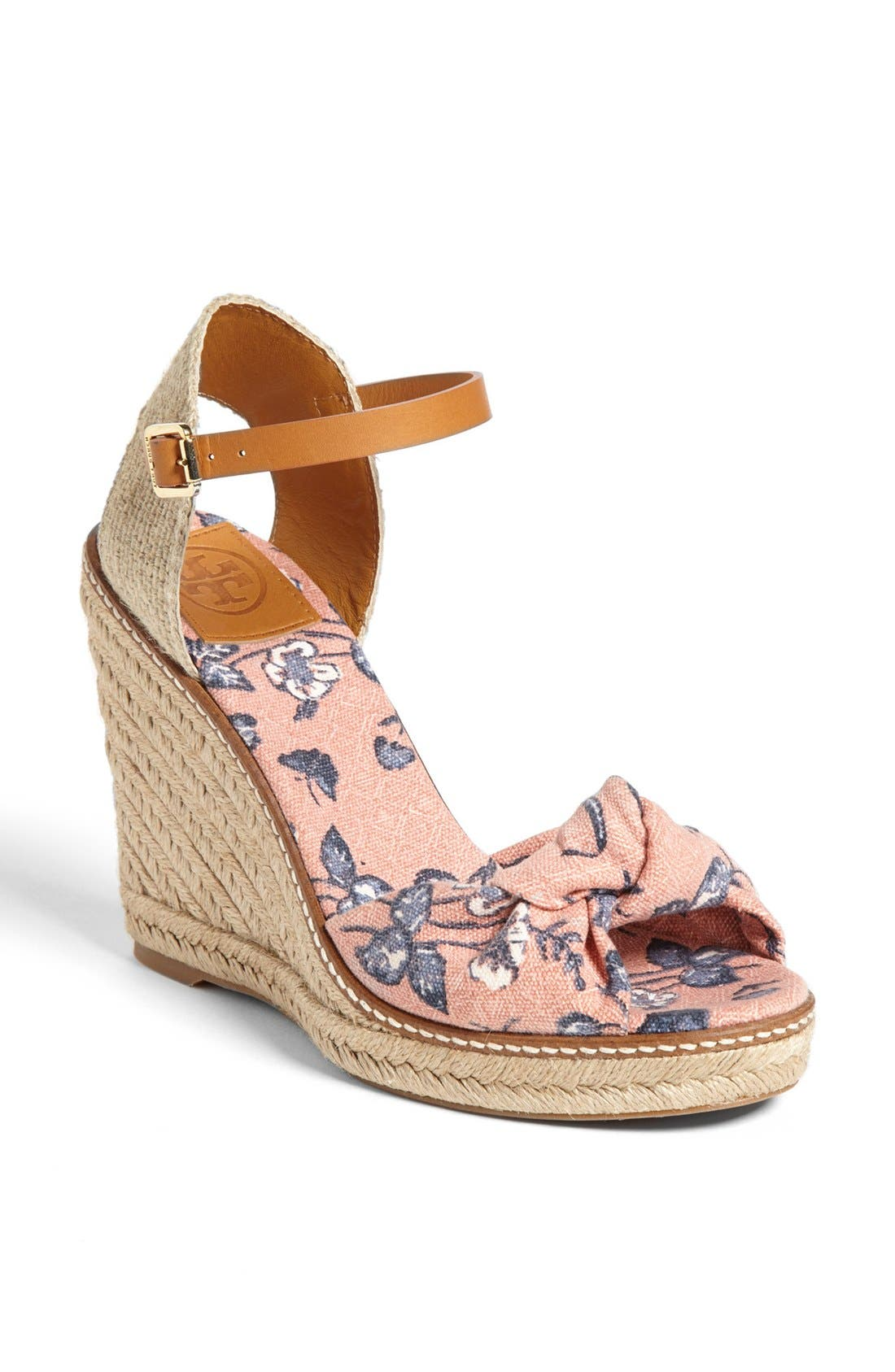 'Macy' Wedge Espadrille,                         Main,                         color, Floral Print