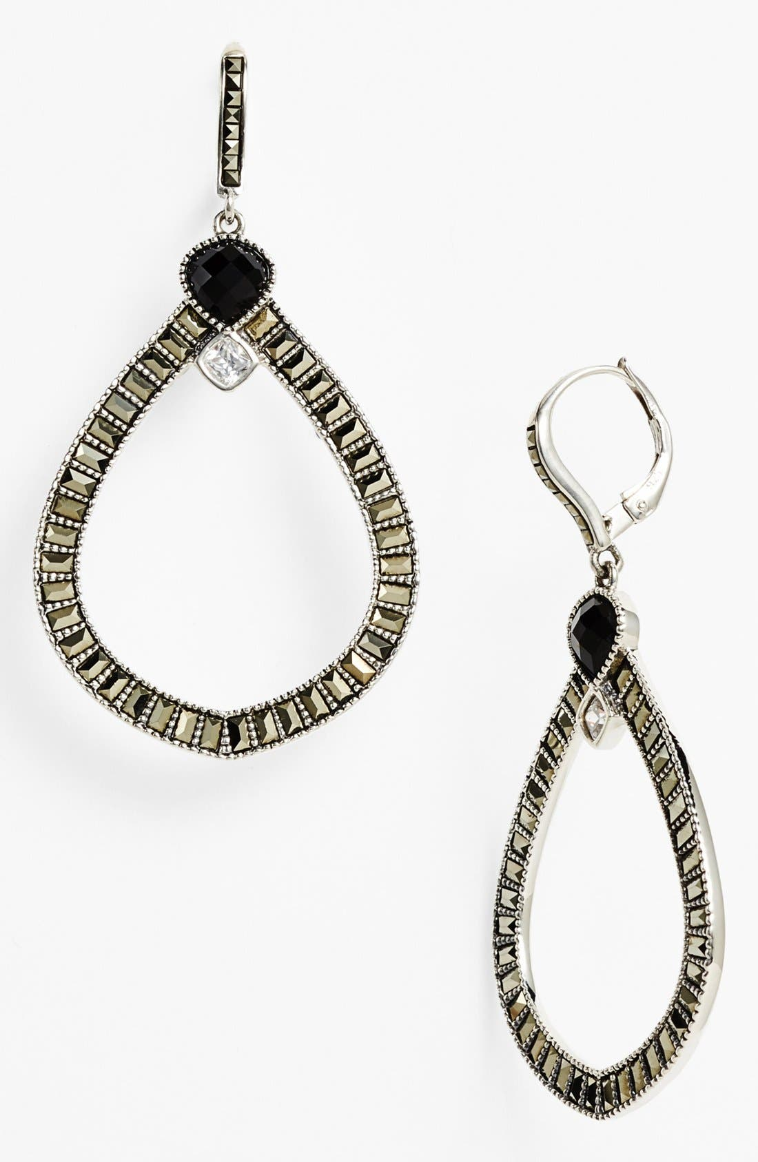Main Image - Judith Jack 'Flamenco' Open Drop Earrings