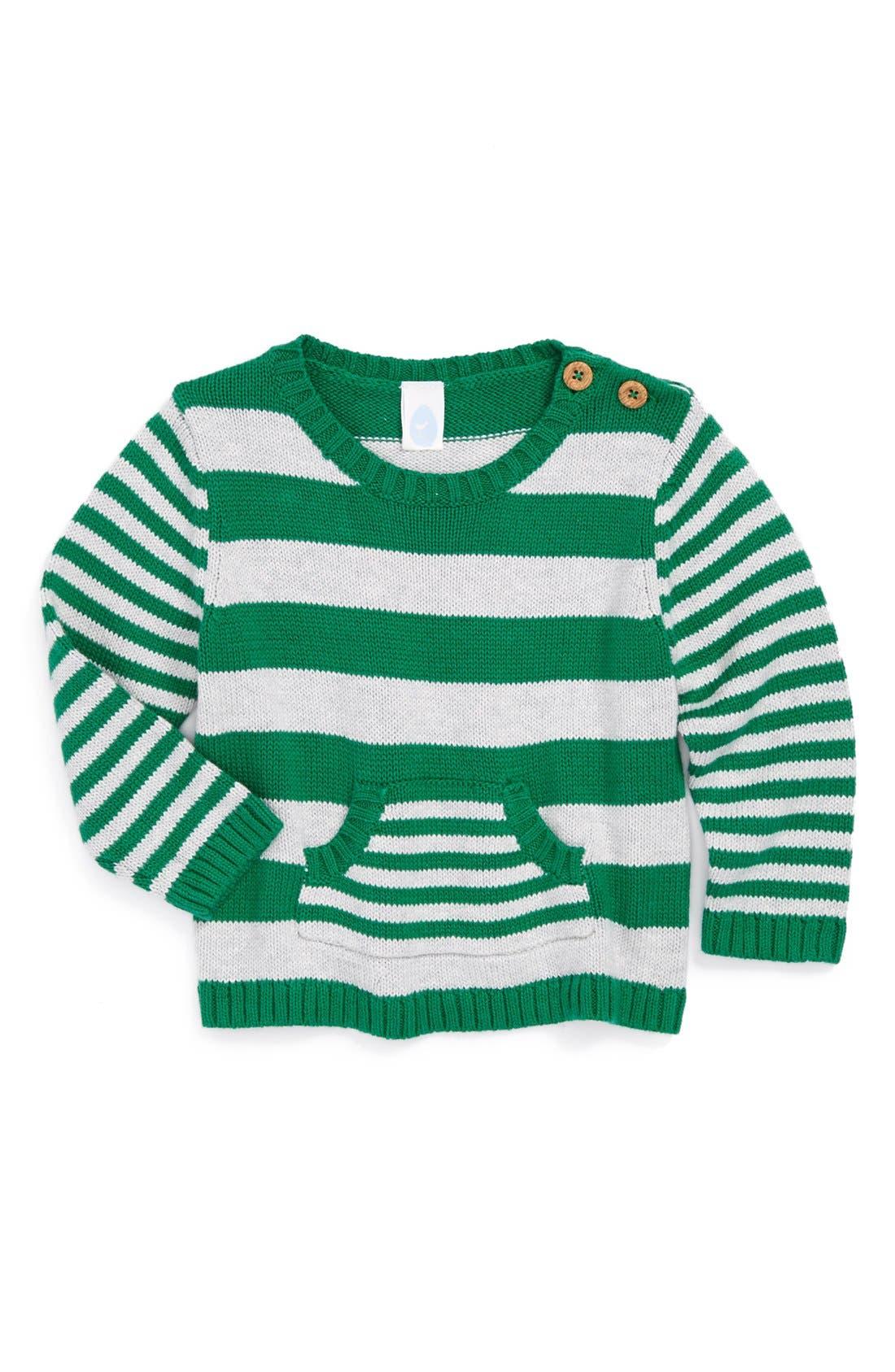 Main Image - Stem Baby Organic Cotton Sweater (Baby Boys)