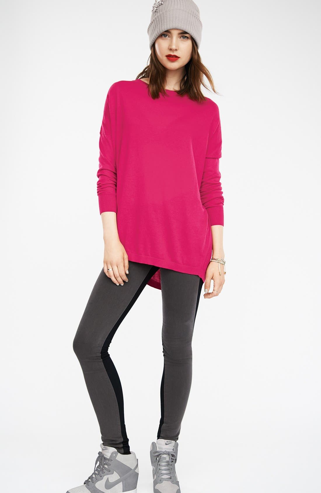 Alternate Image 4  - KUT from the Kloth Colorblock Skinny Jeans