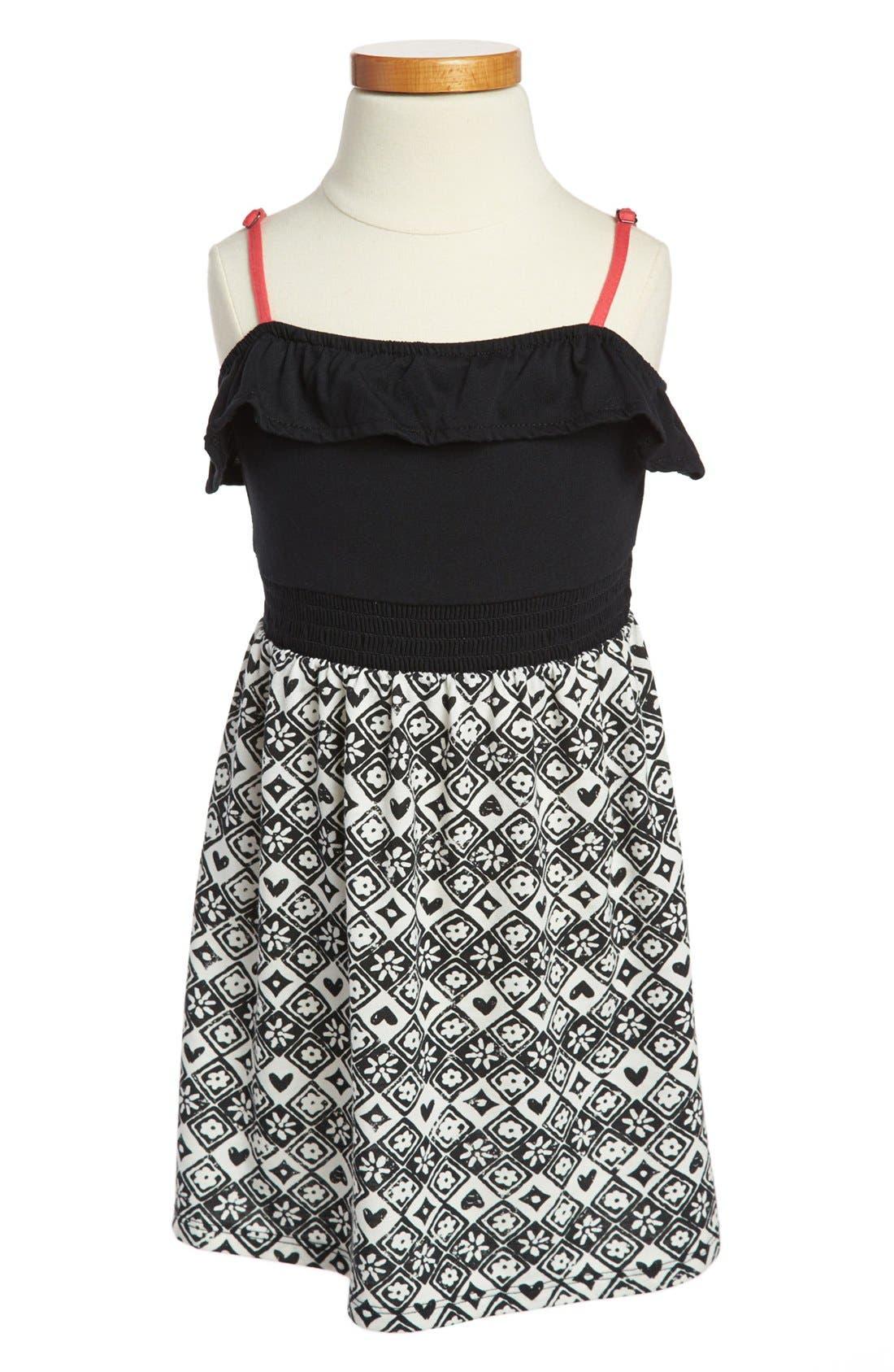 Main Image - Roxy 'Sweet Escape' Dress (Little Girls)