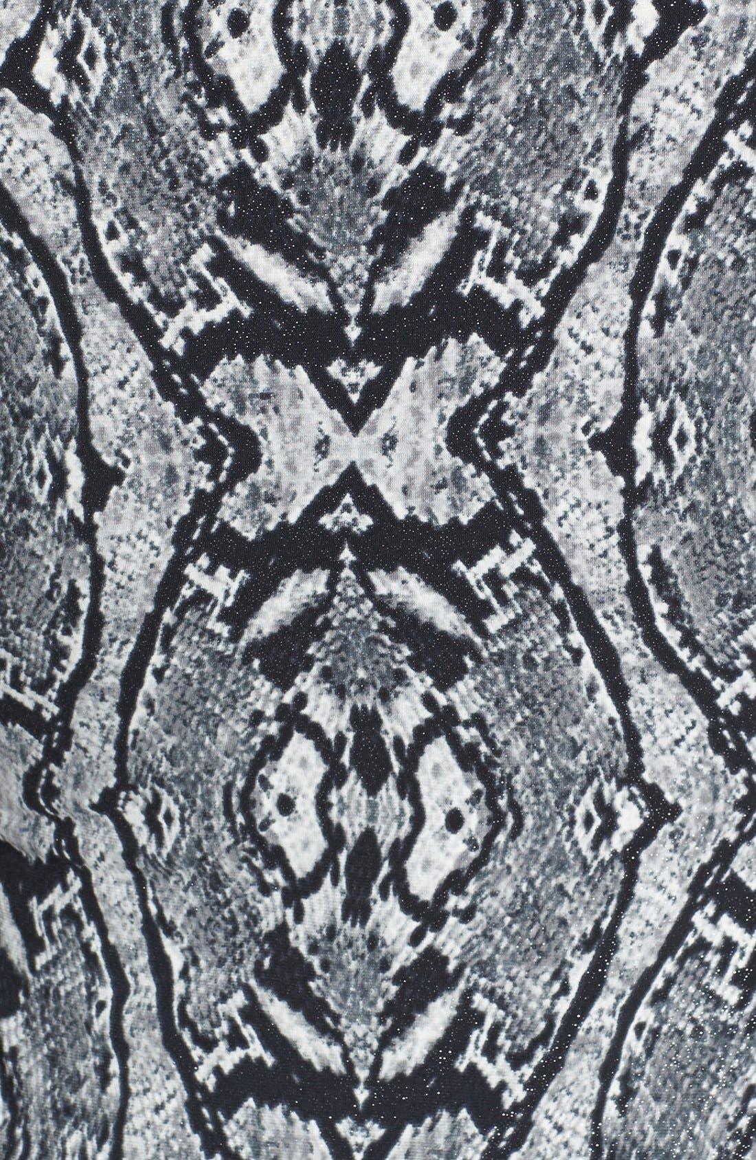 Alternate Image 3  - Anne Klein Geo Python Print Dress