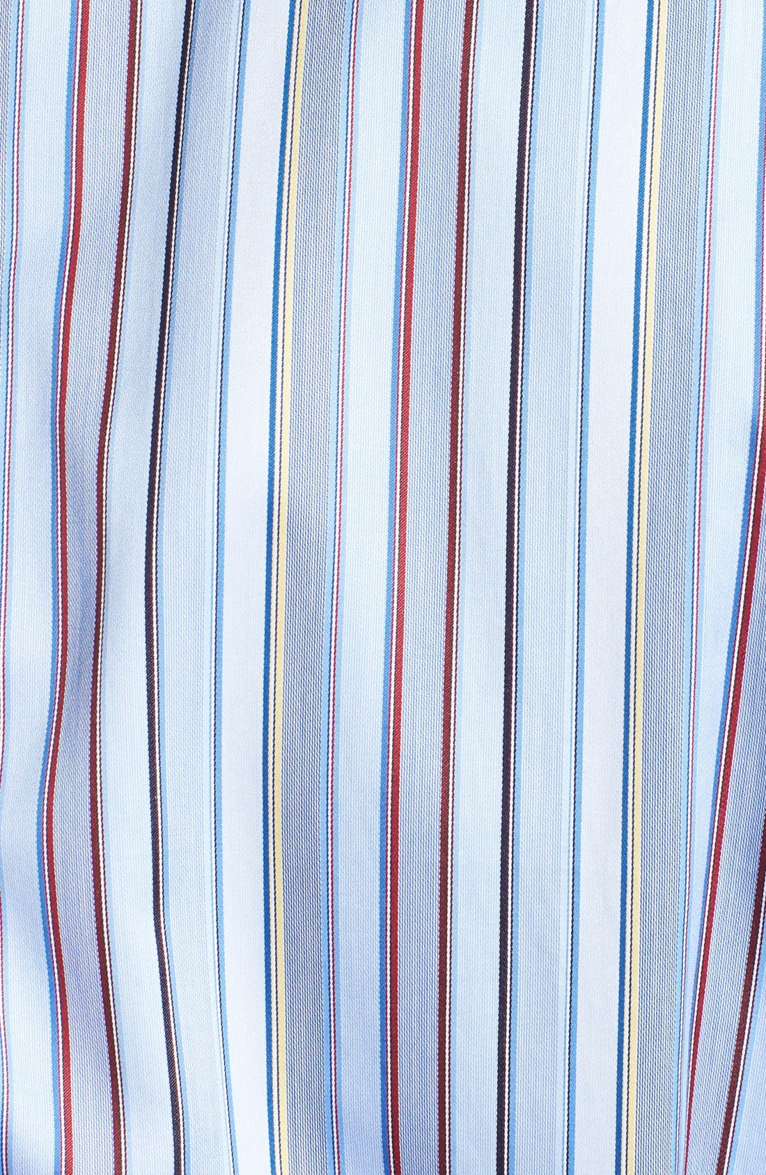 Alternate Image 3  - Robert Talbott Stripe Classic Fit Sport Shirt
