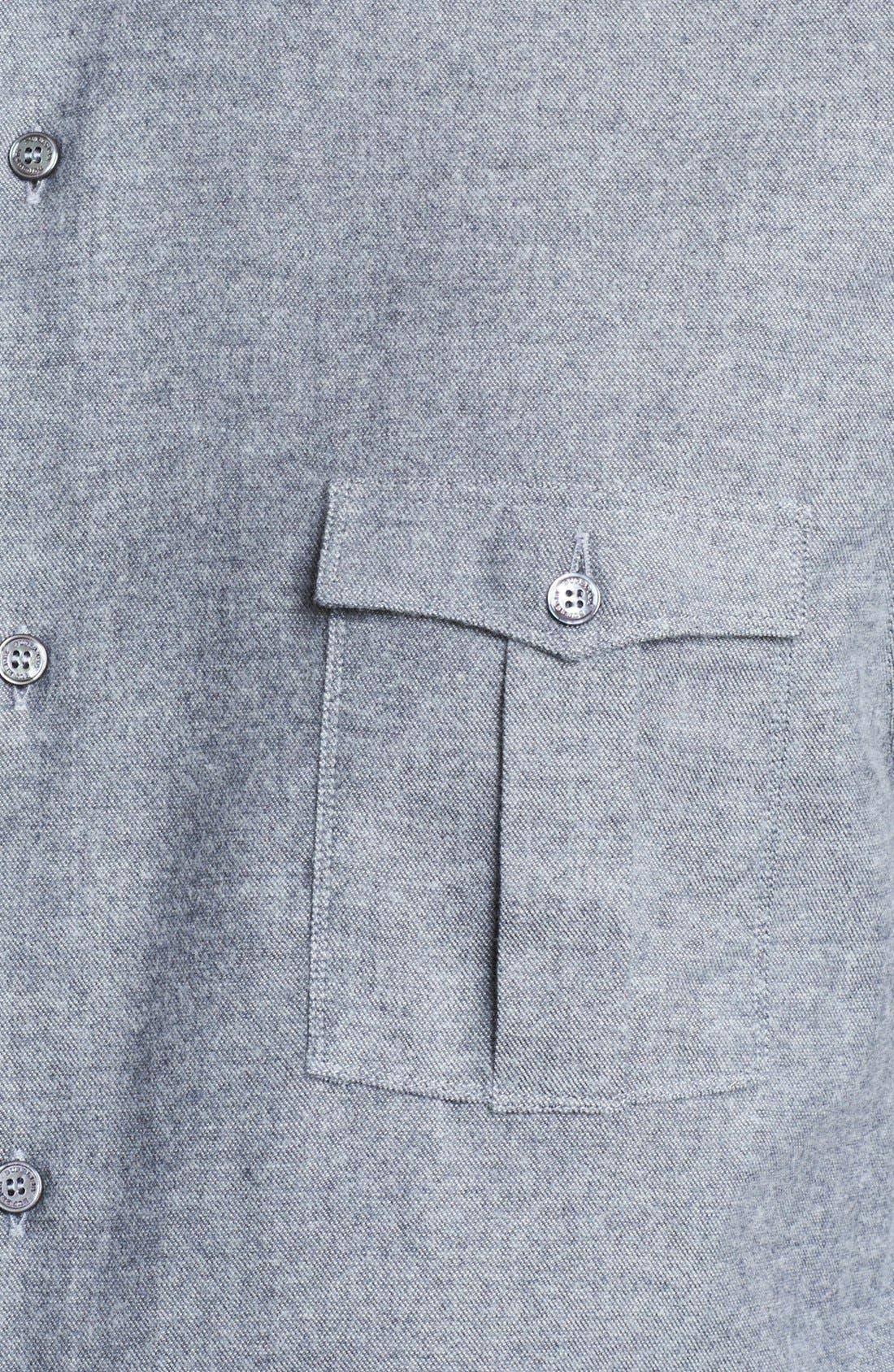 Alternate Image 3  - Burberry London Oxford Military Shirt