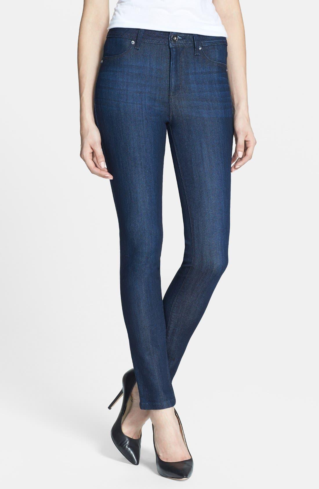 Main Image - DL1961 'Nina' High Rise Skinny Jeans (Milan)