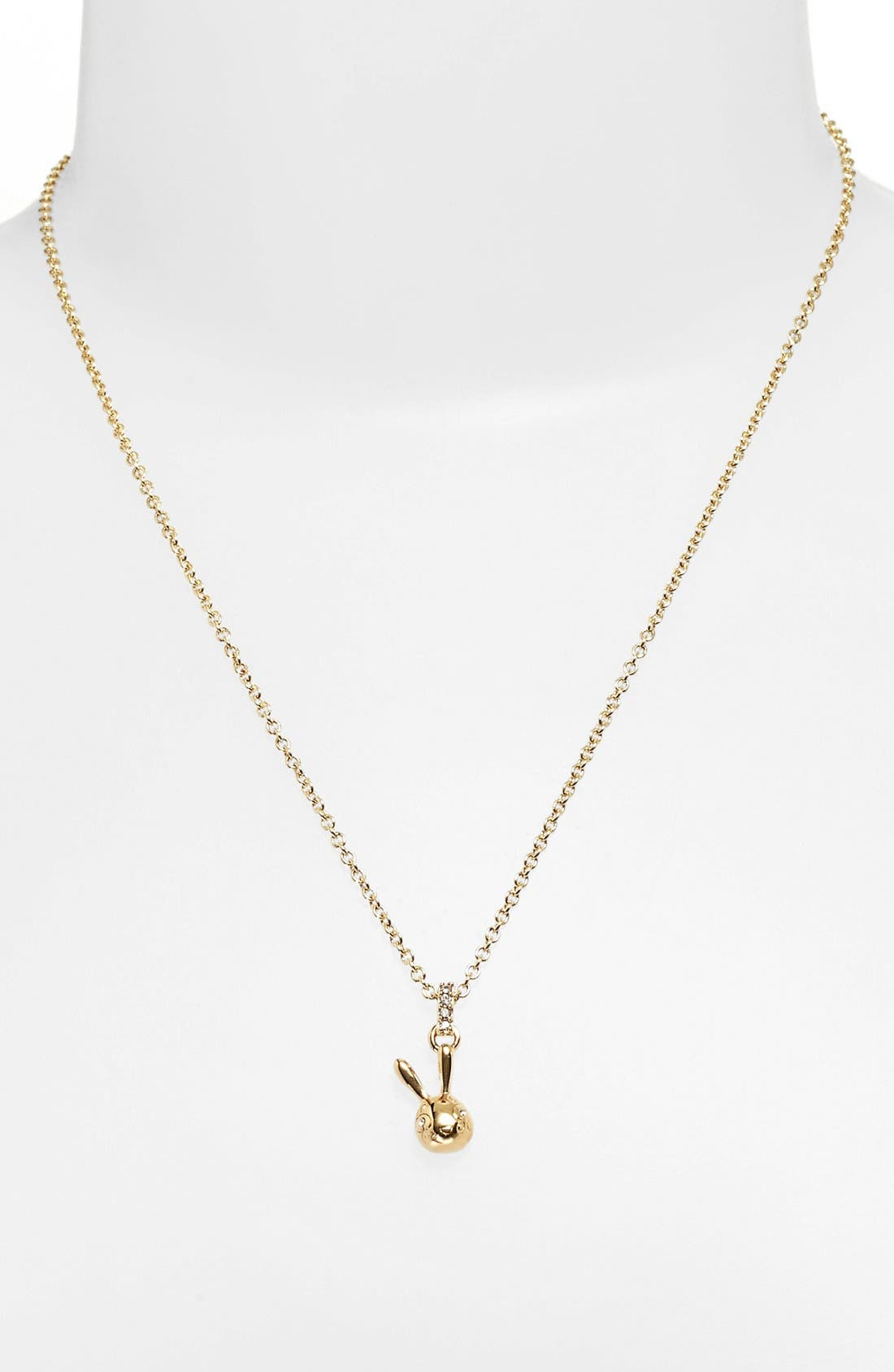 Main Image - MARC BY MARC JACOBS 'Dynamite' Bunny Pendant Necklace