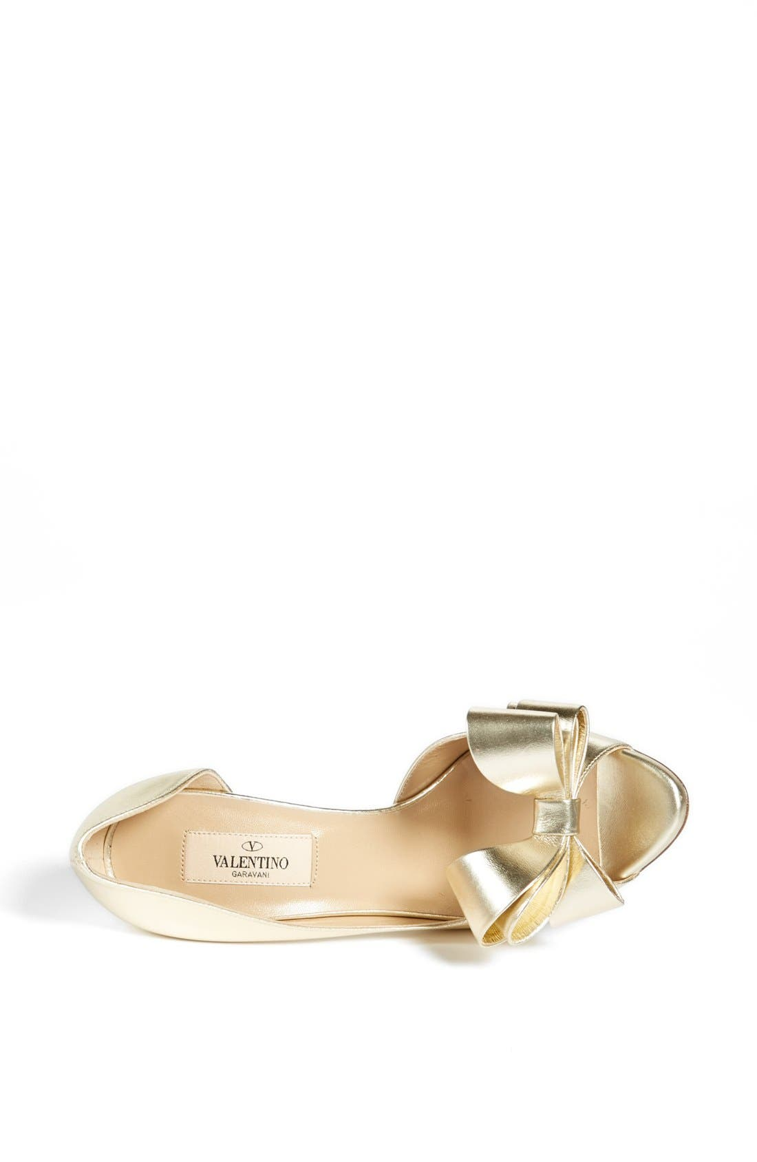 Alternate Image 3  - Valentino 'Couture Bow' D'Orsay Pump (Women)