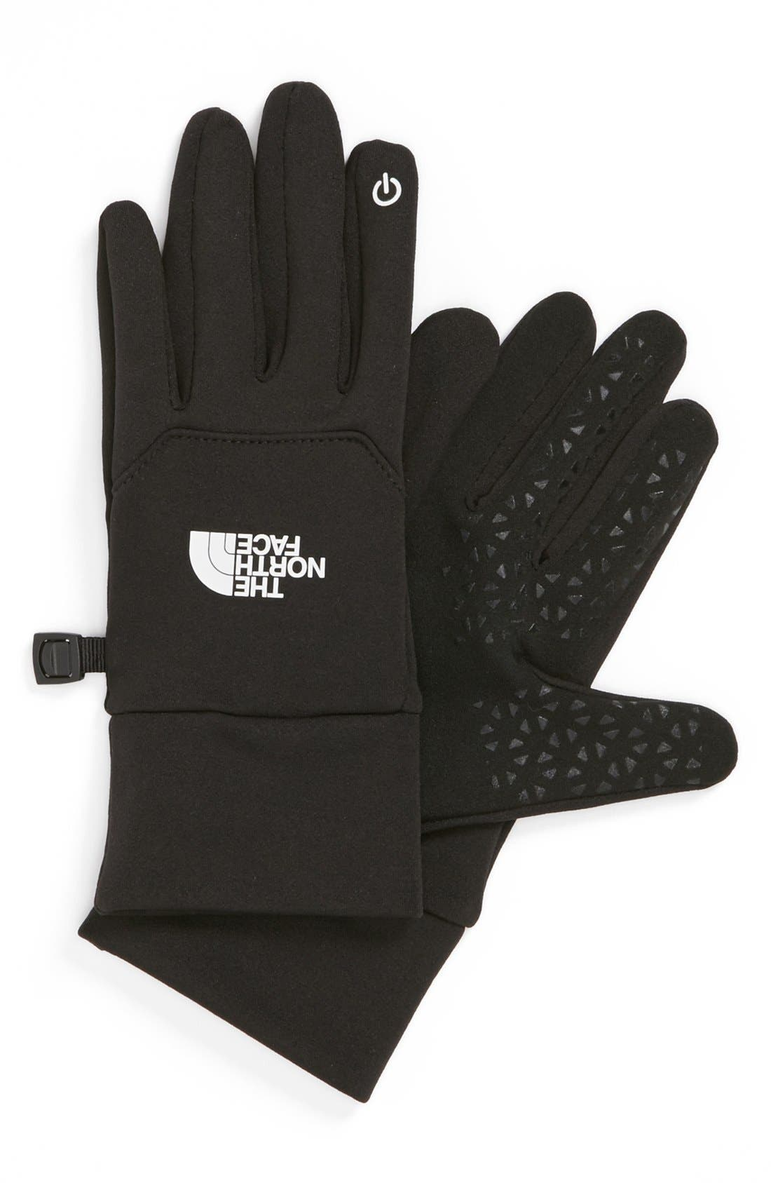 'E-Tip' Glove,                         Main,                         color, Black