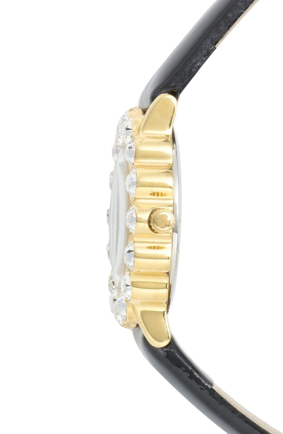 Alternate Image 3  - kate spade new york 'belvedere' crystal bezel watch, 24mm