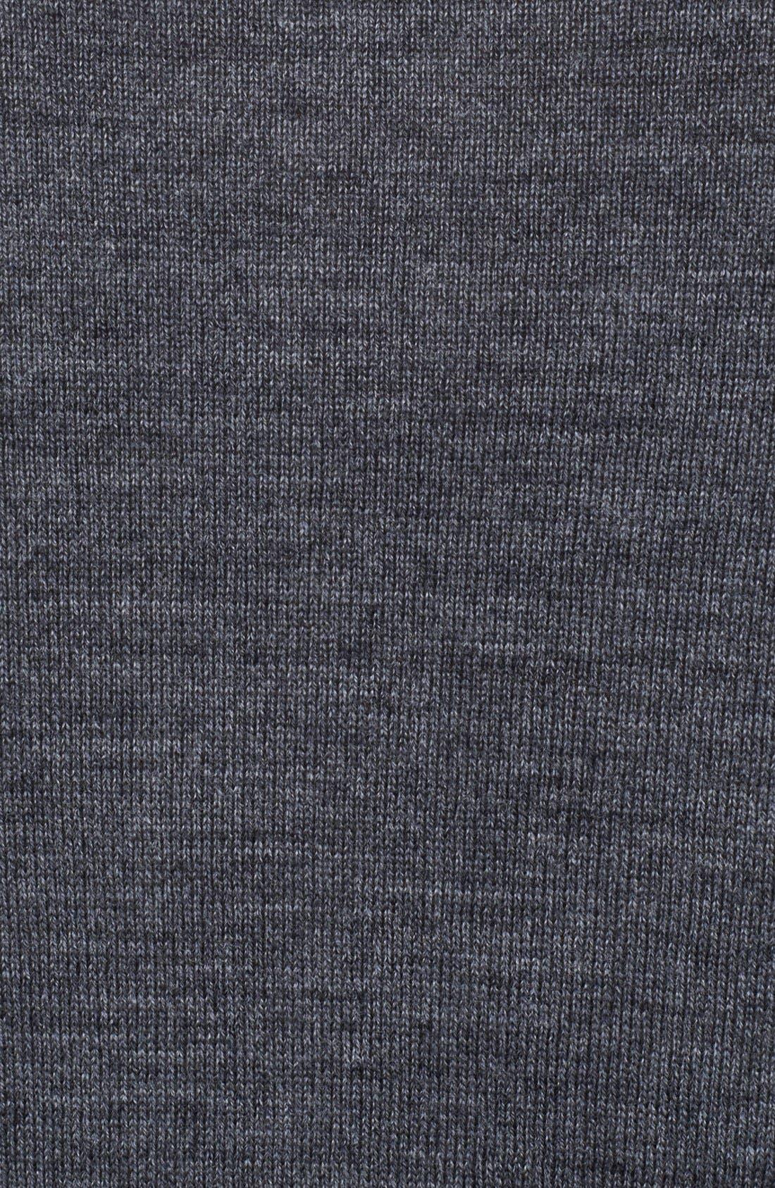 Alternate Image 3  - John Varvatos Collection Merino Wool V-Neck Sweater
