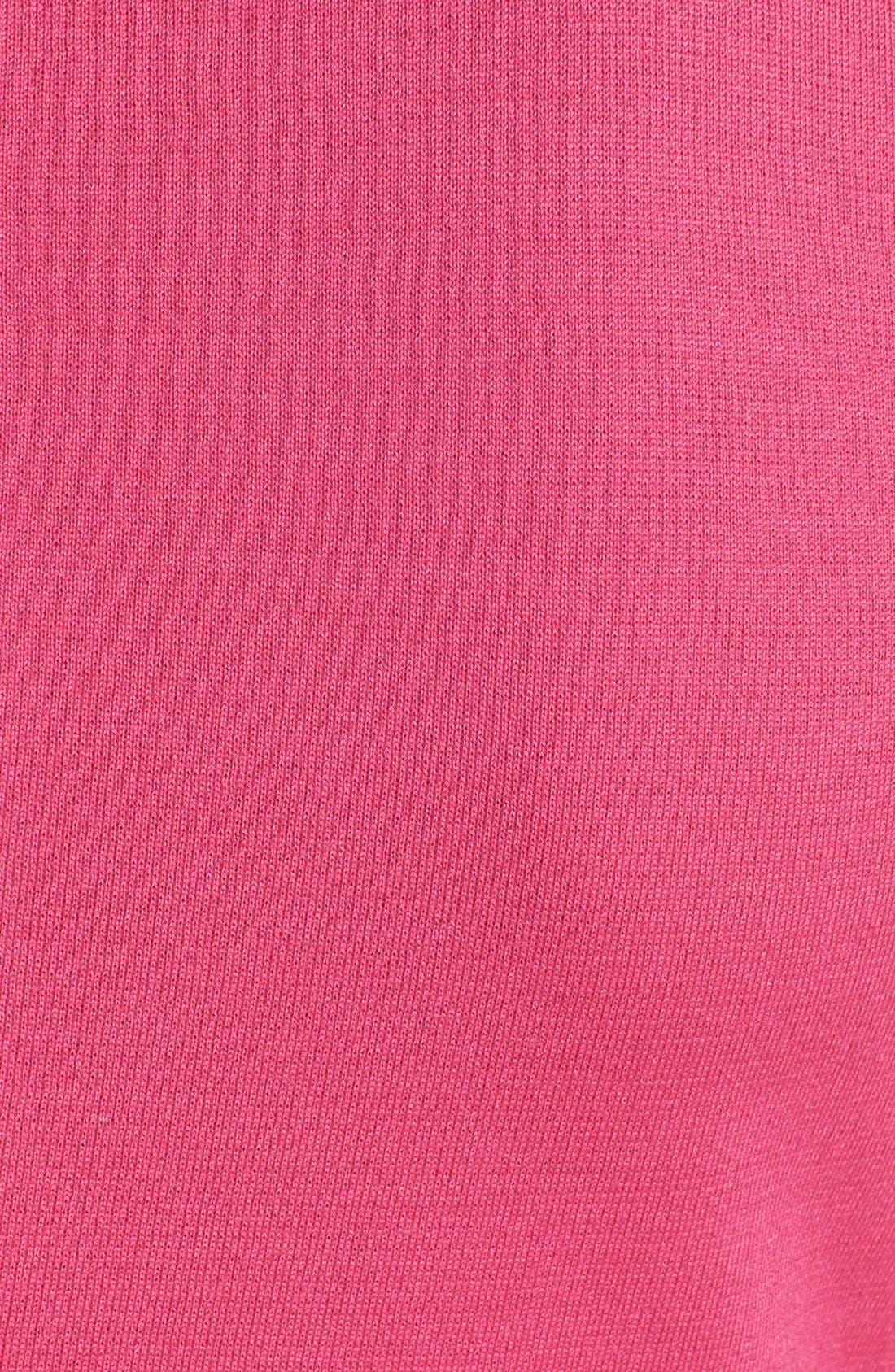 Alternate Image 3  - St. John Collection Scoop Neck Milano Knit Sheath Dress