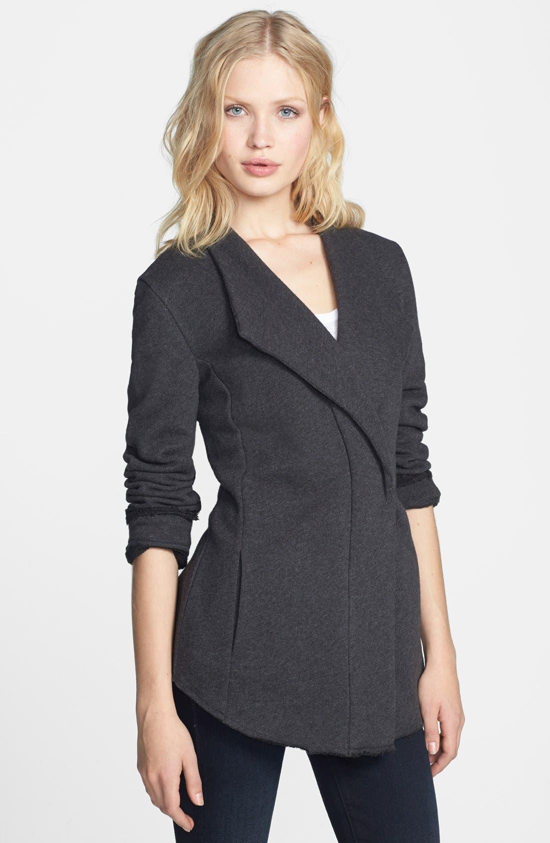 Alternate Image 1 Selected - Stem Drape Collar Jacket