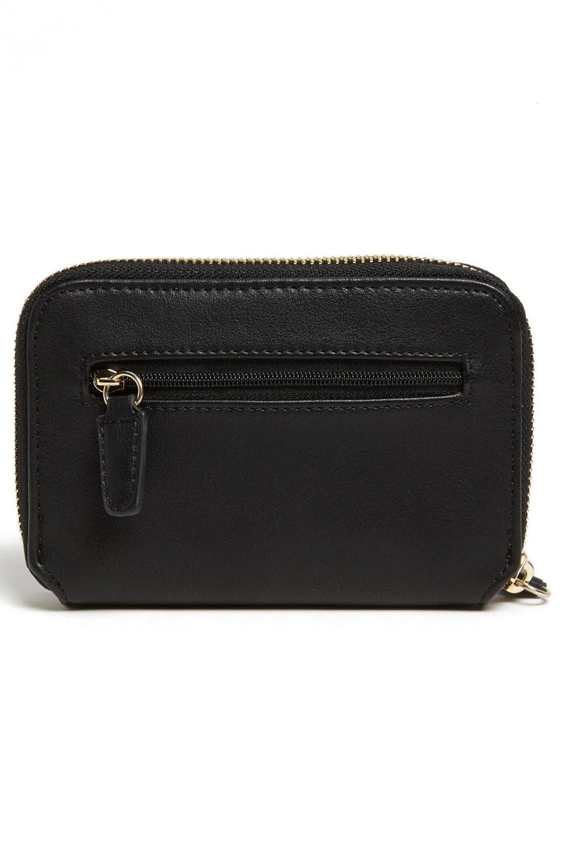 Alternate Image 4  - Danielle Nicole 'Tina' Faux Leather Zip Around Wallet