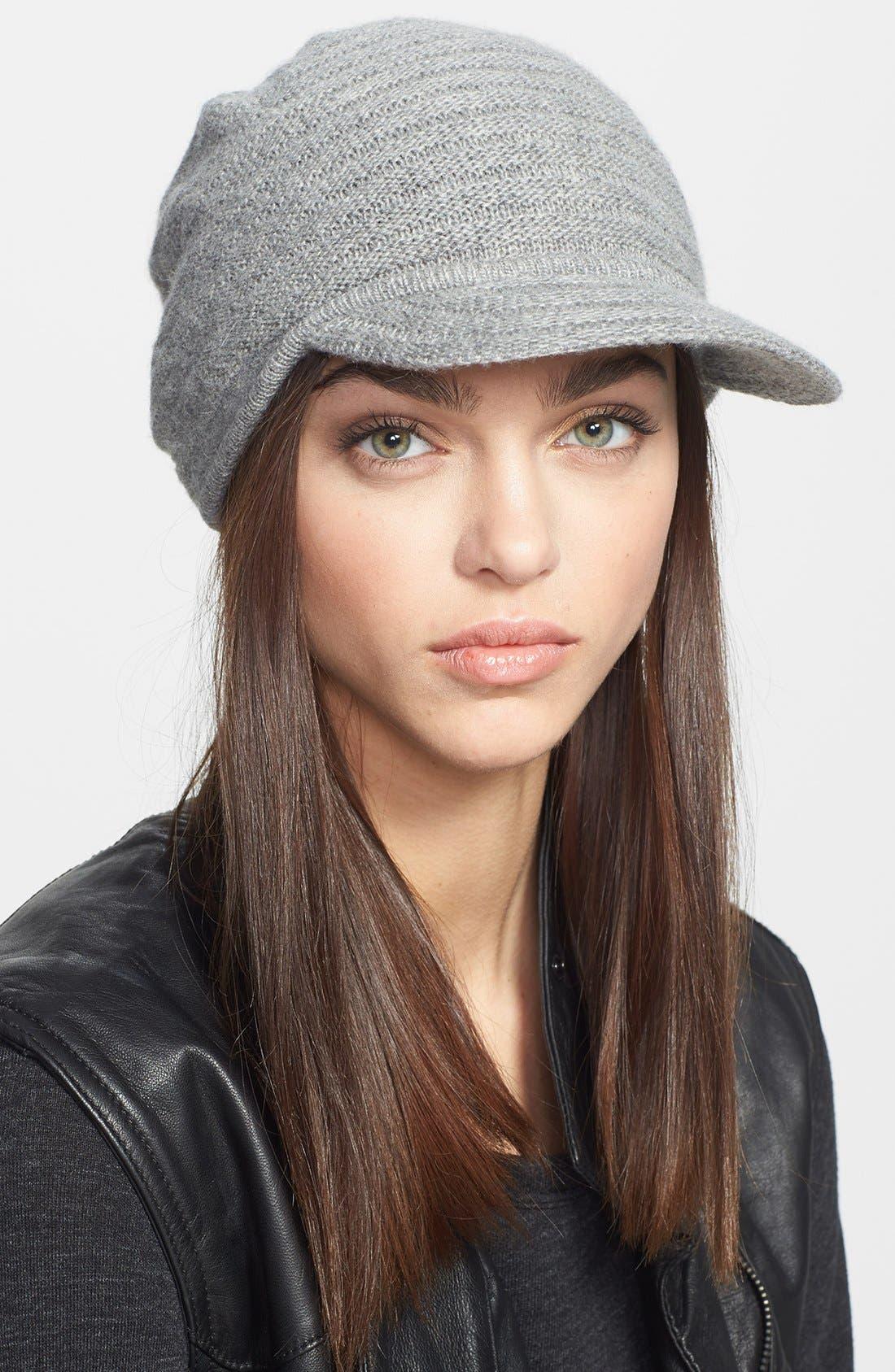 Alternate Image 1 Selected - Portolano Knit Visor Hat