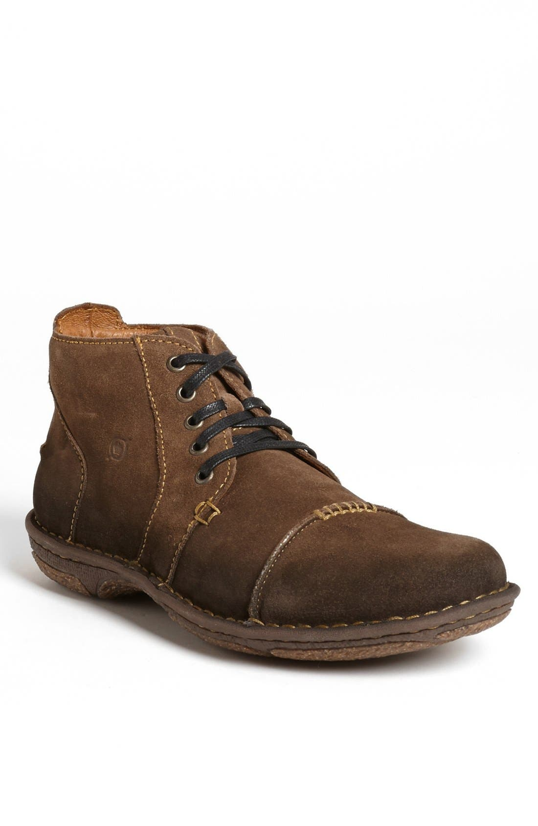 Main Image - Børn 'Edlan' Cap Toe Chukka Boot (Men)