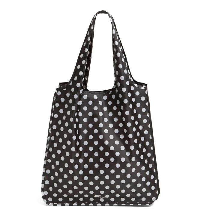 Kate spade new york polka dot reusable shopping tote nordstrom main image kate spade new york polka dot reusable shopping tote junglespirit