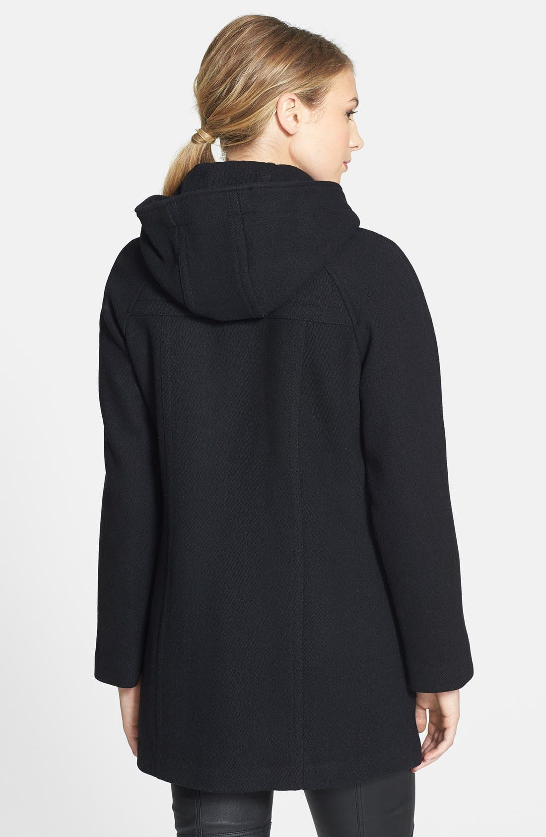 Alternate Image 2  - London Fog Hooded Duffle Coat