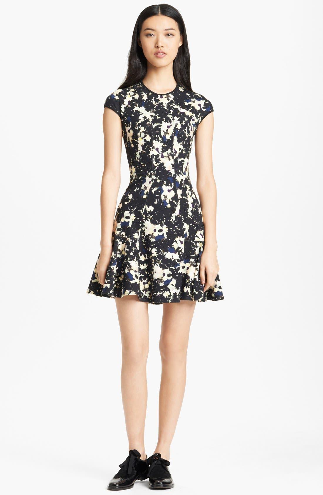 Alternate Image 1 Selected - Erdem Print Ponte Jersey Dress